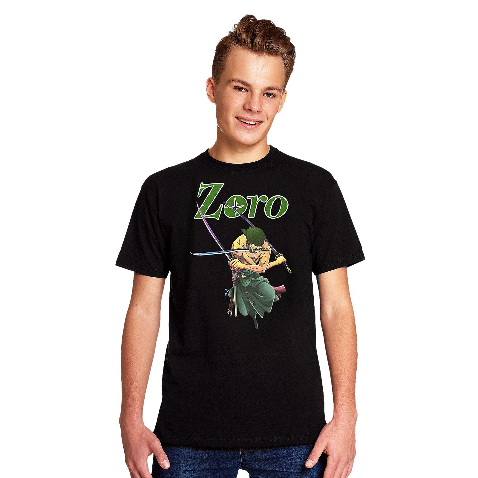 One Piece - Zoro T-Shirt schwarz