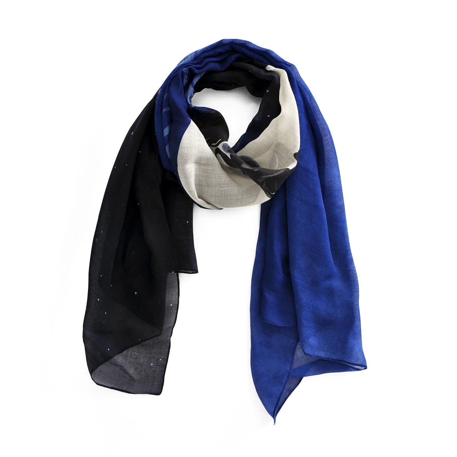 Arielle - Mondschein Schal schwarz