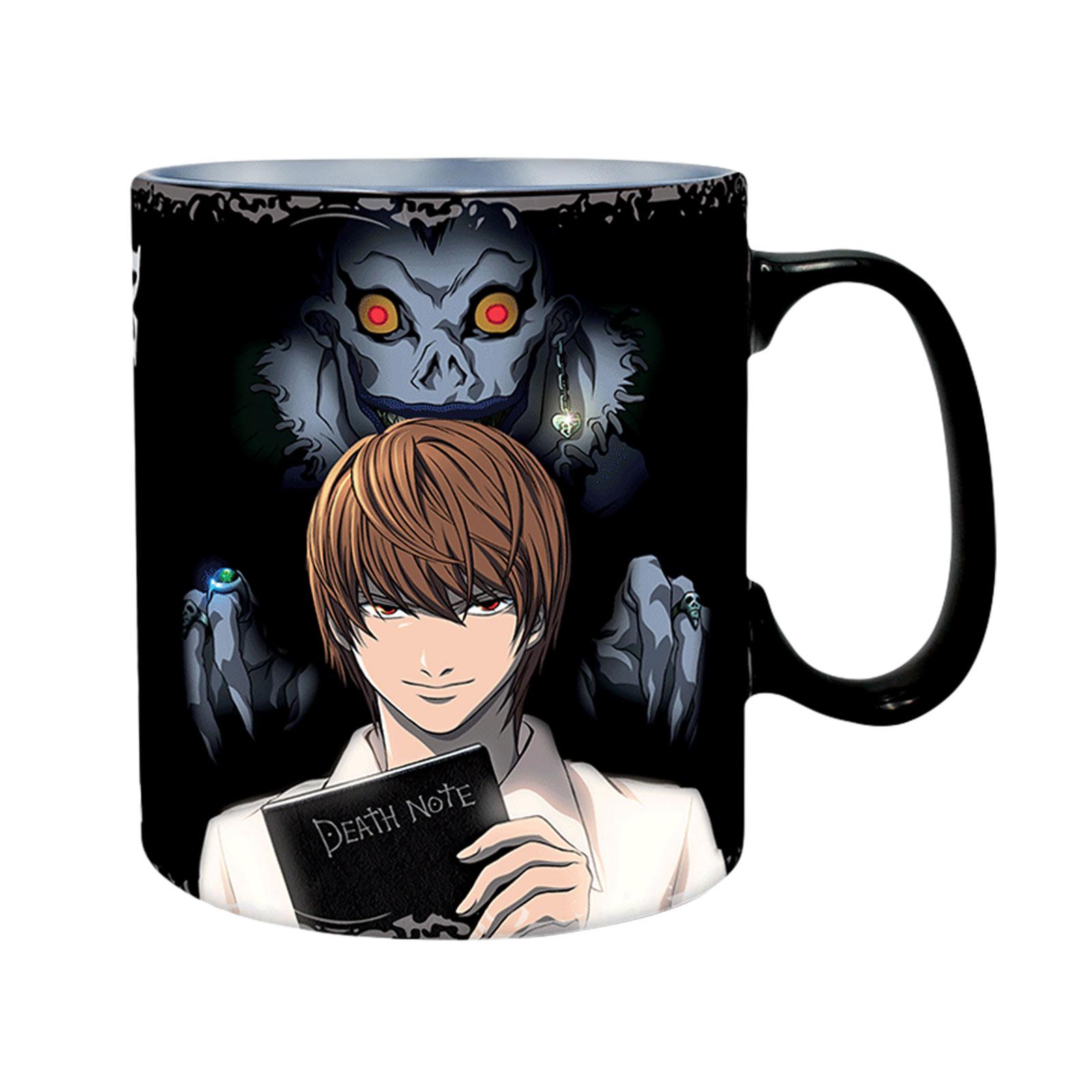 Death Note - Light Yagami & L Lawliet Thermoeffekt Tasse
