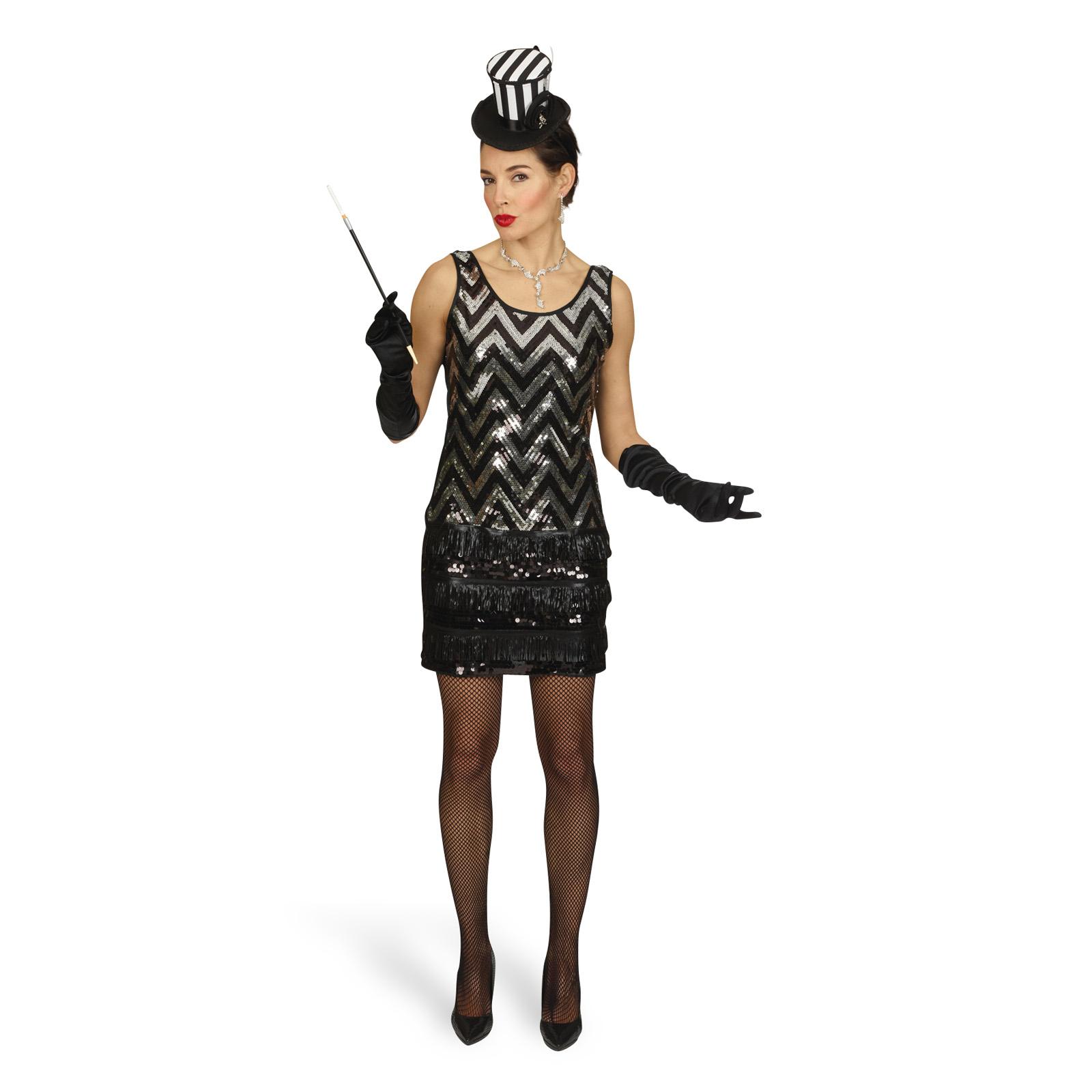 Charleston Kleid Kostüm Damen