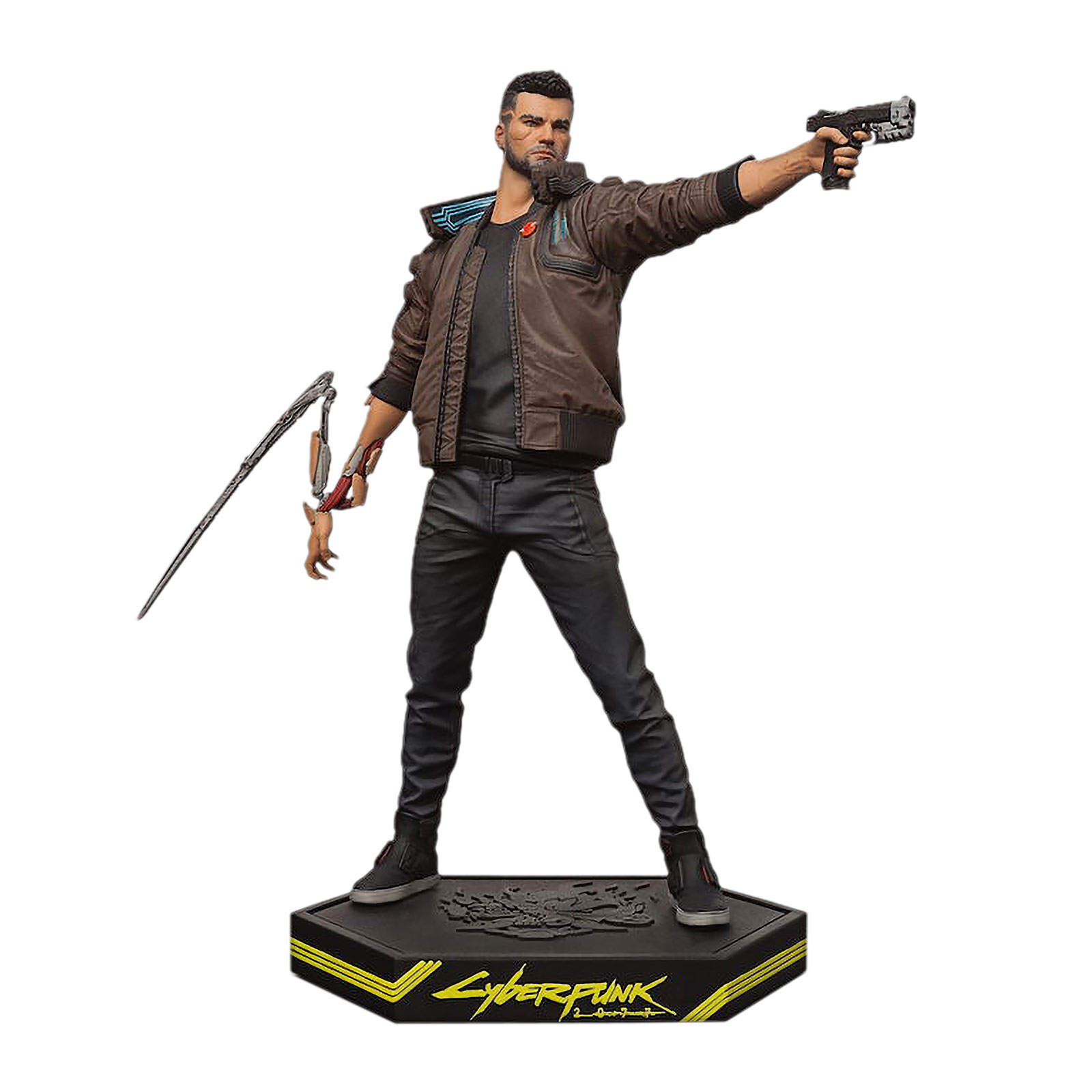 Cyberpunk 2077 - Male V Figur 24cm