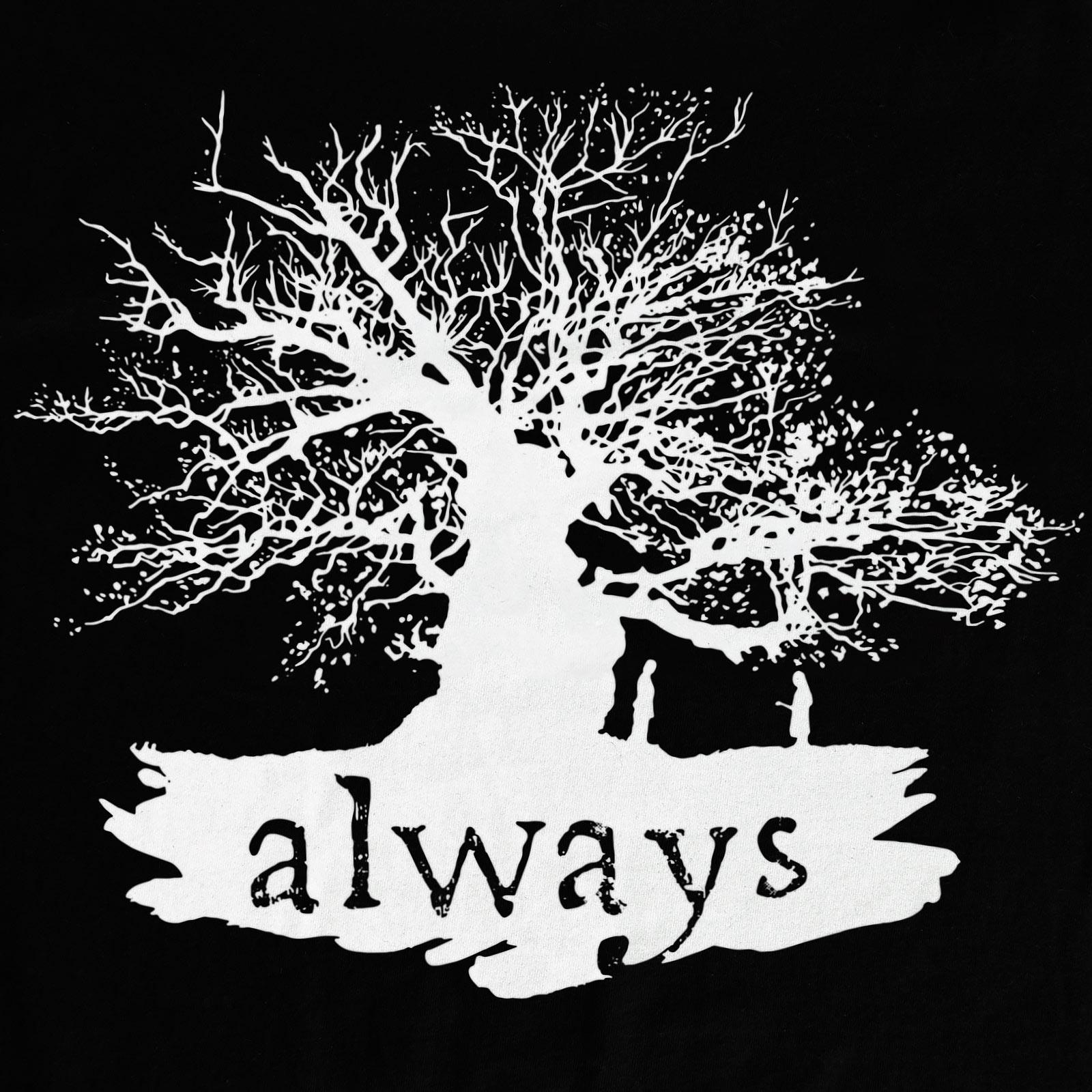 Harry Potter - Always T-Shirt Damen schwarz