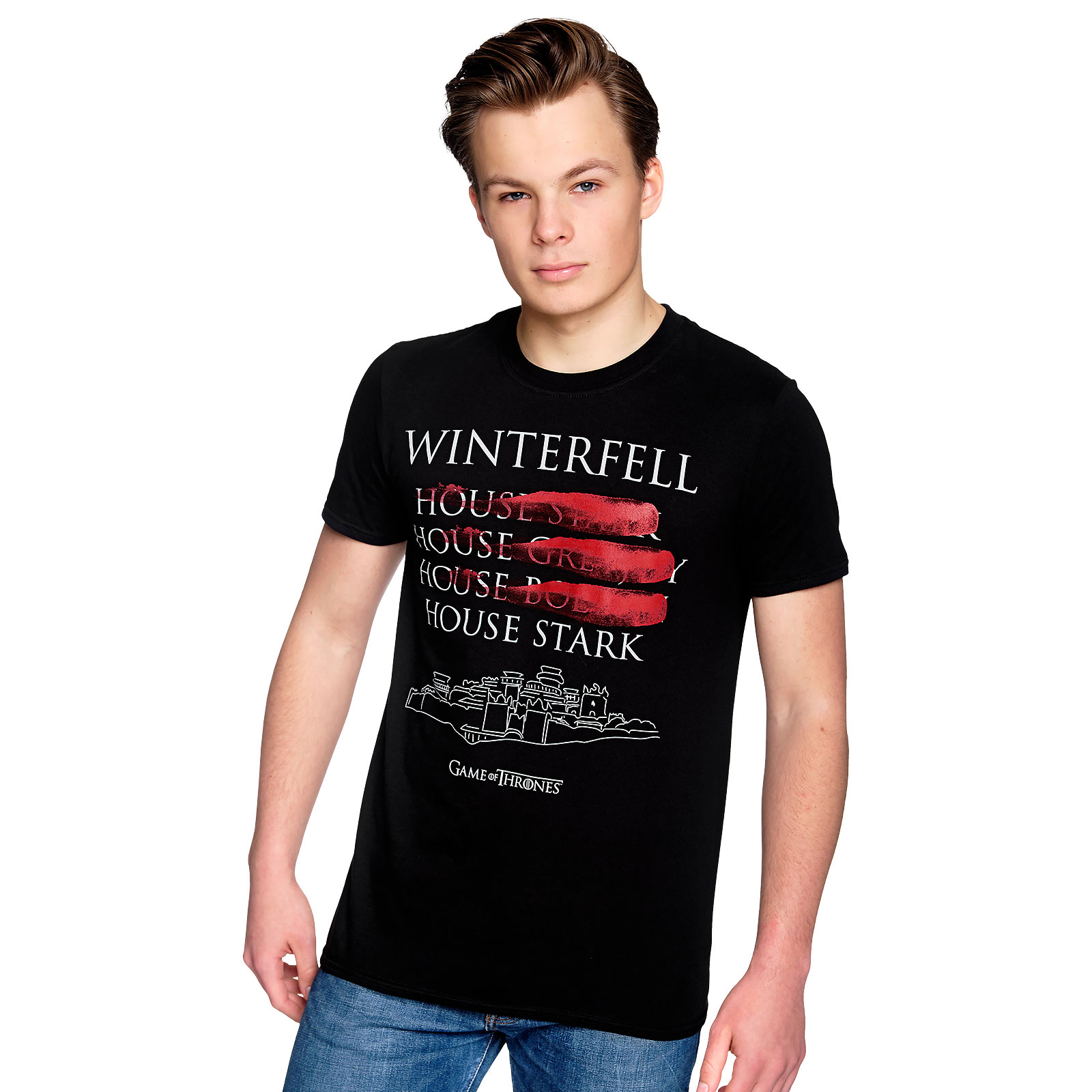Game of Thrones - Winterfell Rulers T-Shirt schwarz