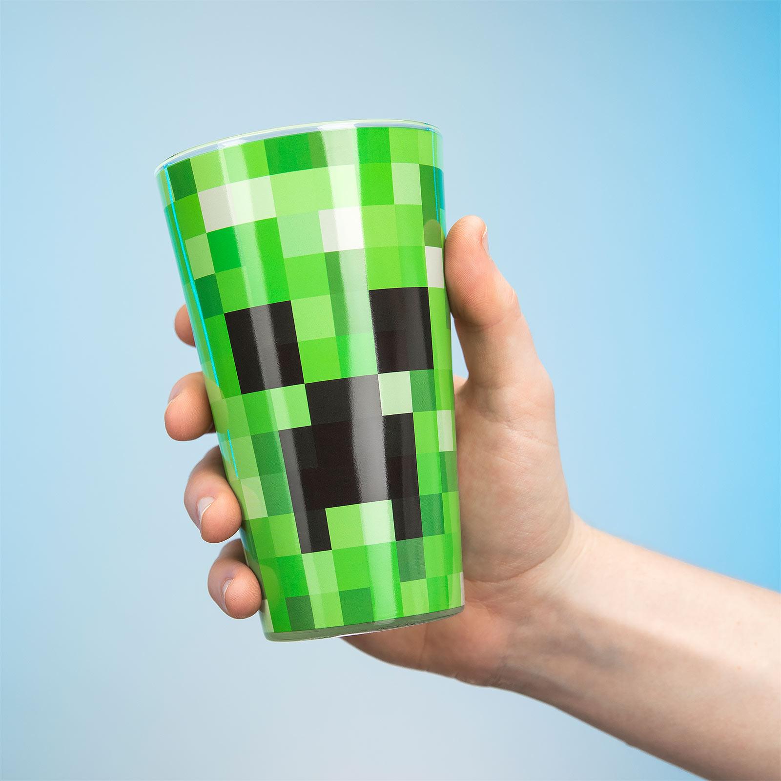 Minecraft - Creeper Glas