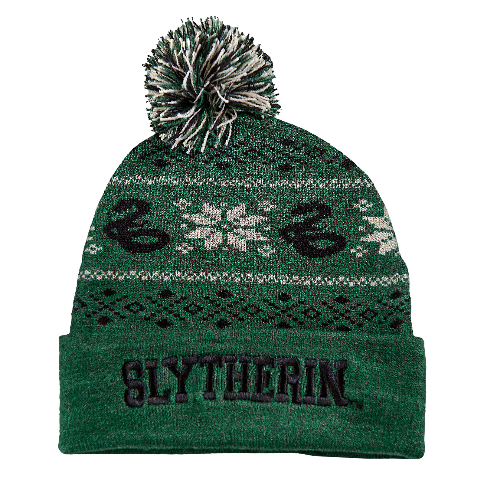 Harry Potter - Slytherin Norwegermütze grün
