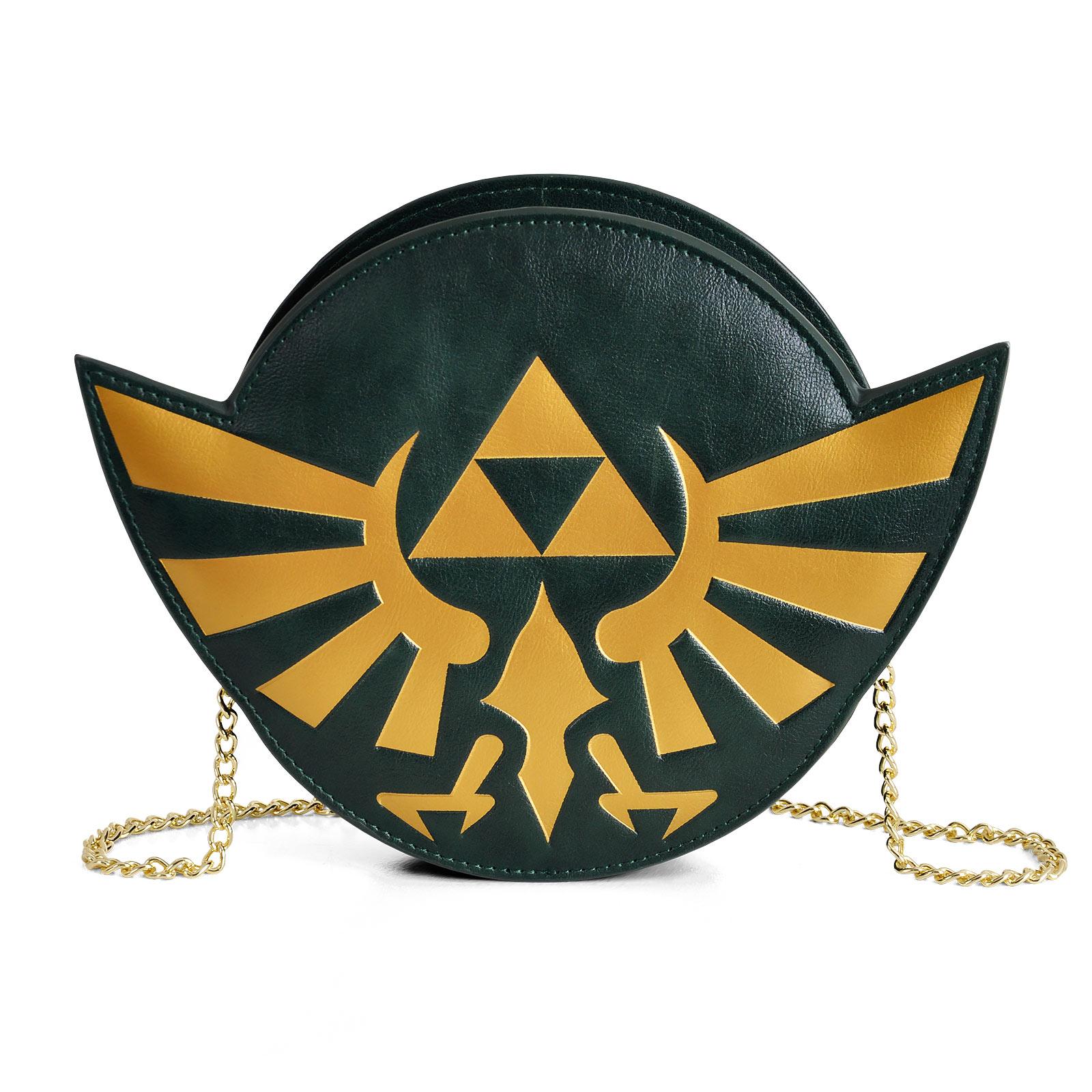 Zelda - Hyrule Logo Tasche mit Kette