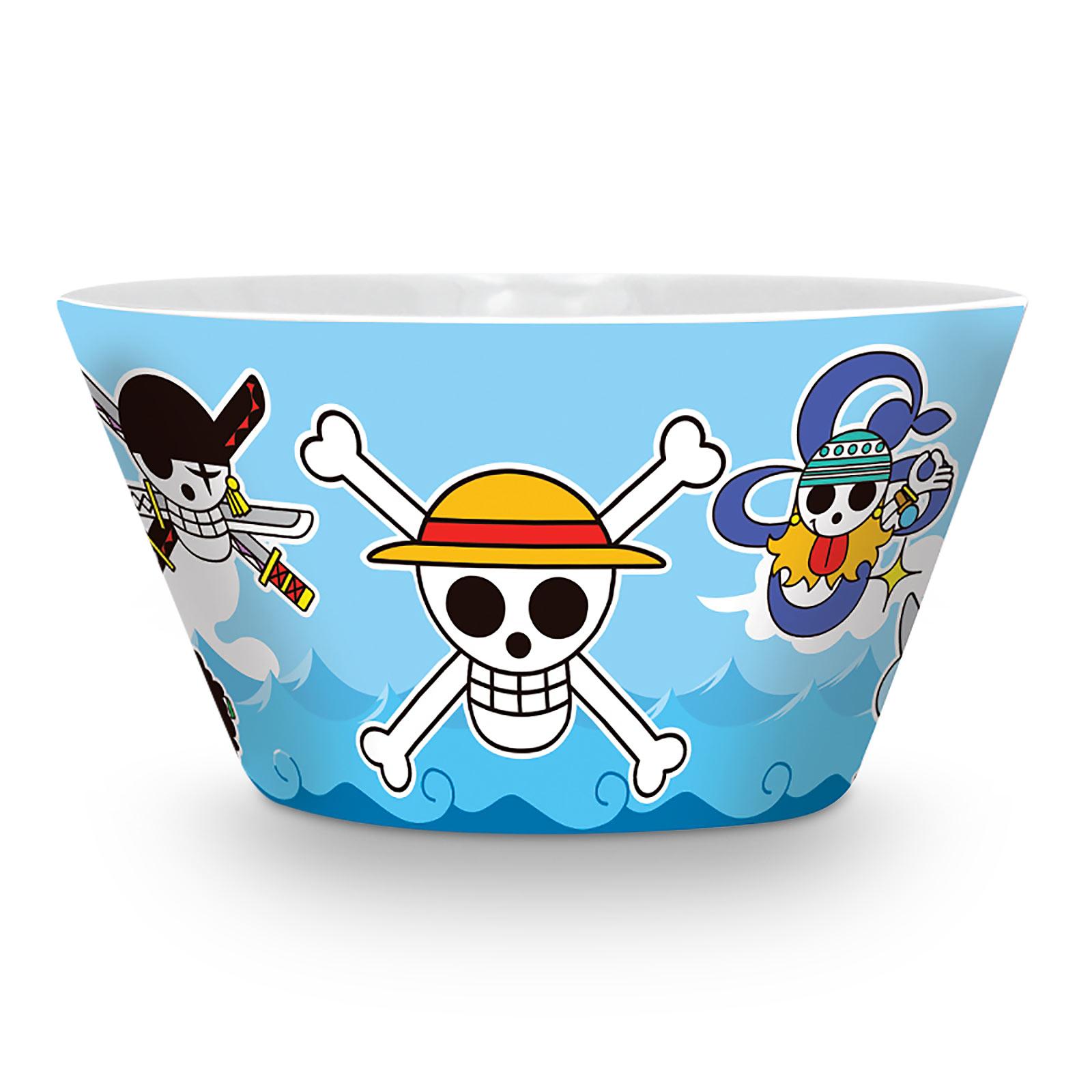 One Piece - Strohhutbande Skulls Müslischale