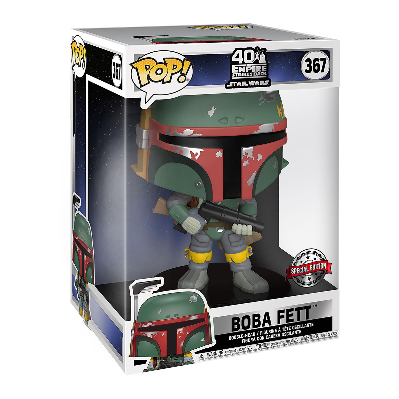 Star Wars - Boba Fett Funko Pop Wackelkopf-Figur 25cm