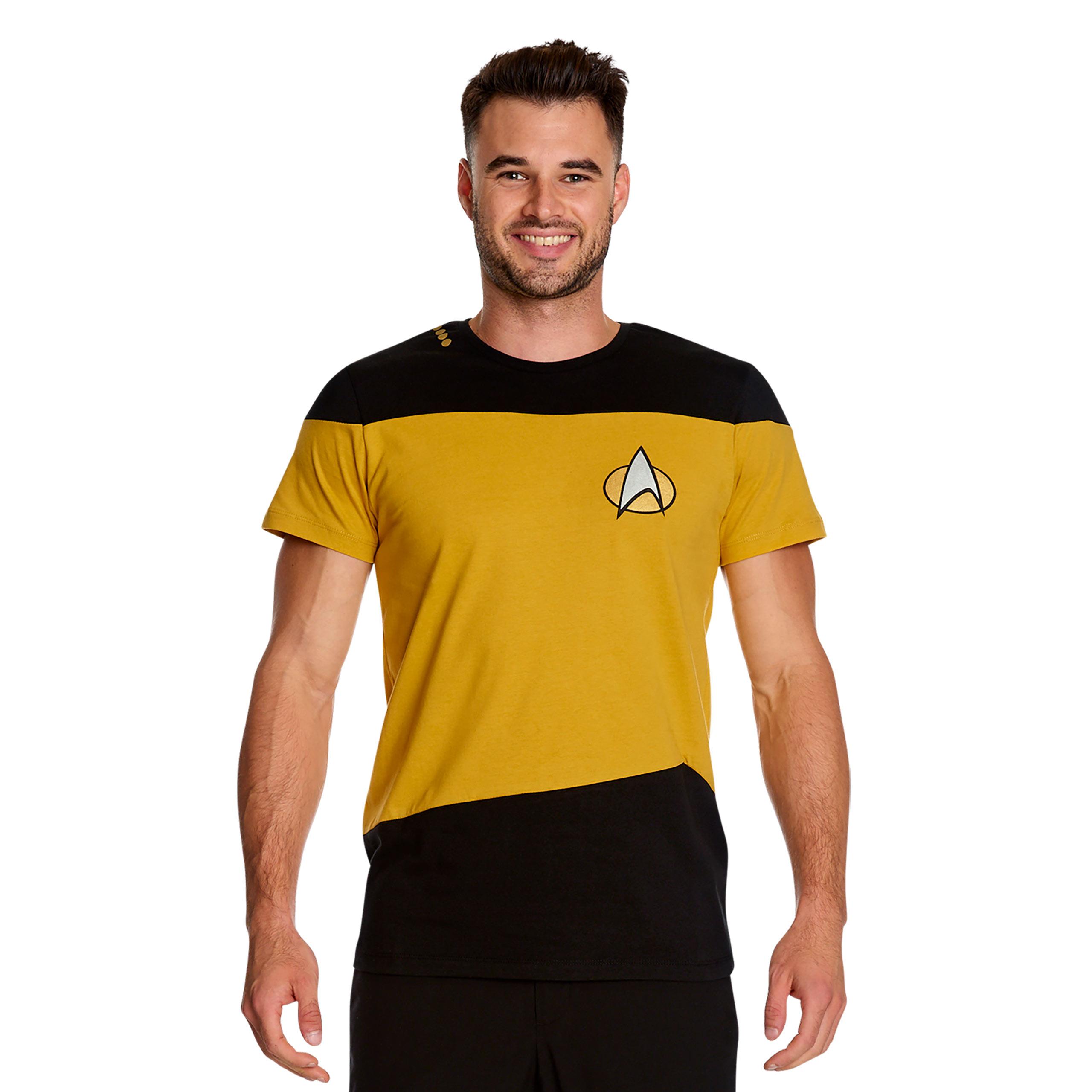 The Next Generation Uniform T-Shirt gelb - Star Trek