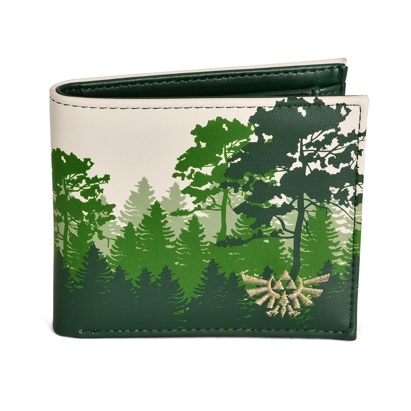 Zelda - Hyrule Green Forest Geldbörse