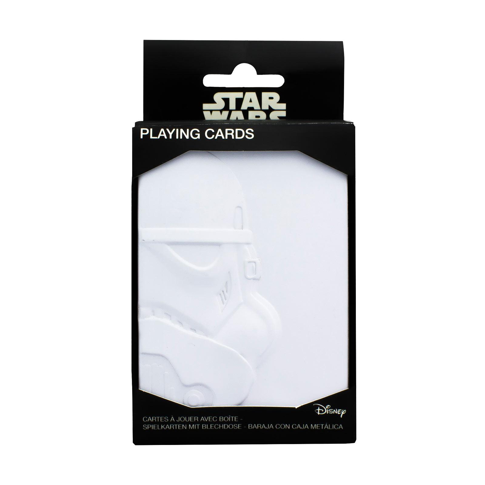 Star Wars - Stormtrooper Spielkarten in Metallbox