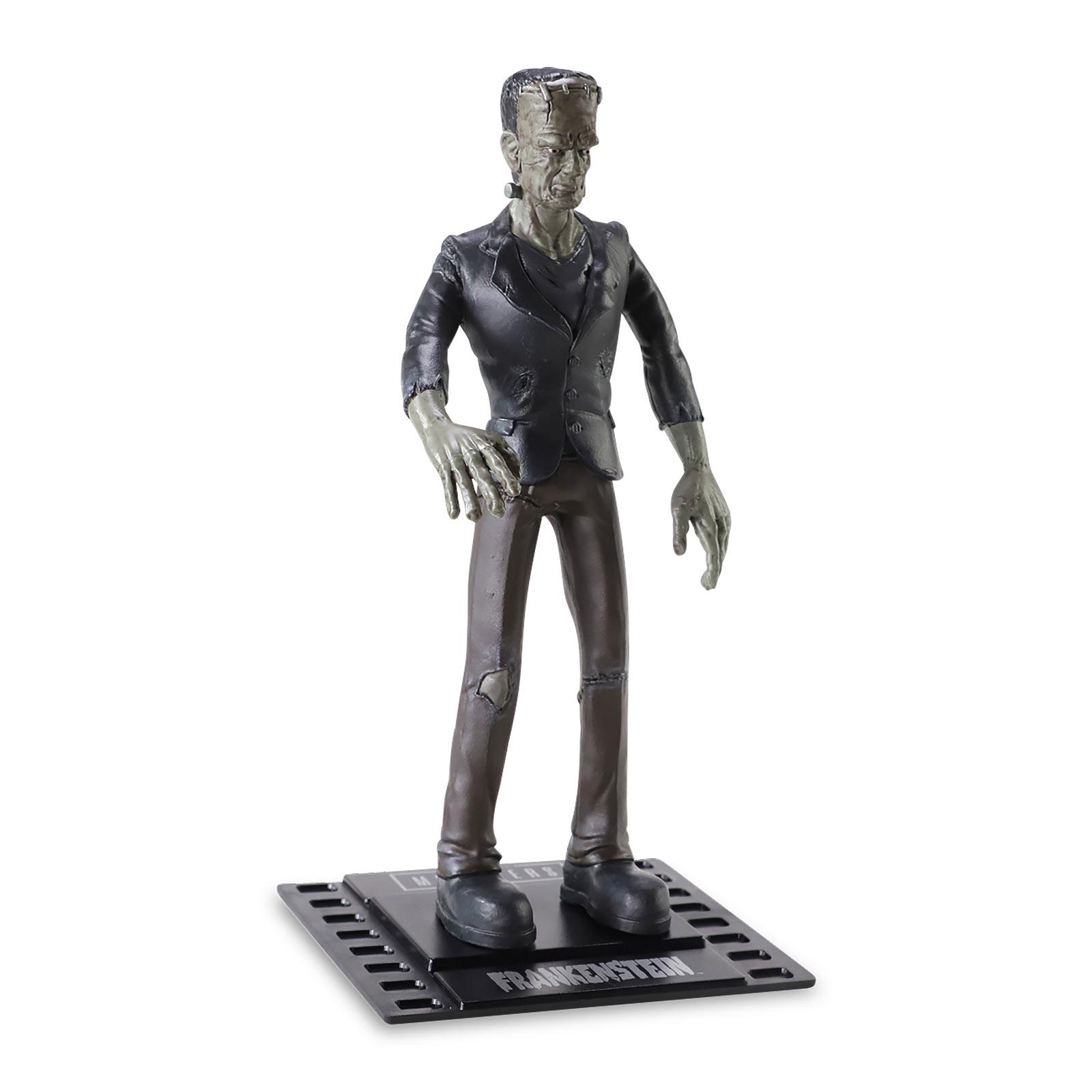 Universal Monsters - Frankensteins Monster Bendyfigs Figur 18 cm