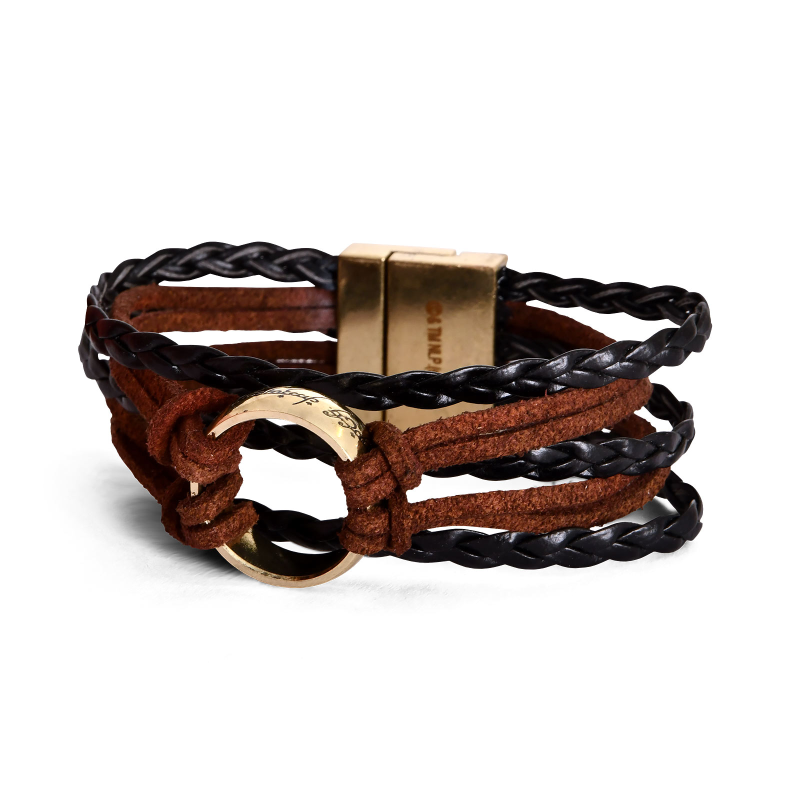 Herr der Ringe - Der Eine Ring Wickelarmband