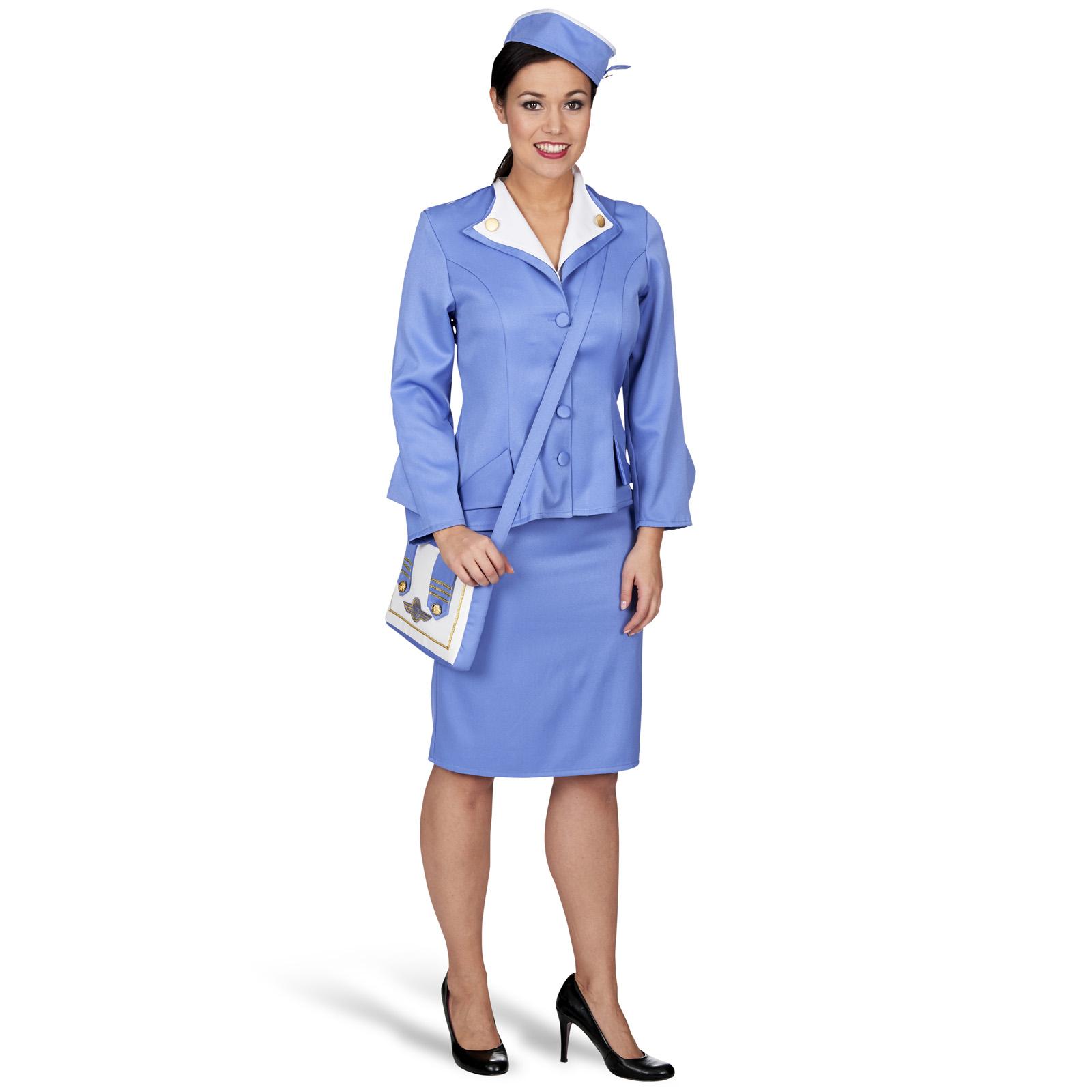 Stewardess Kostüm Damen