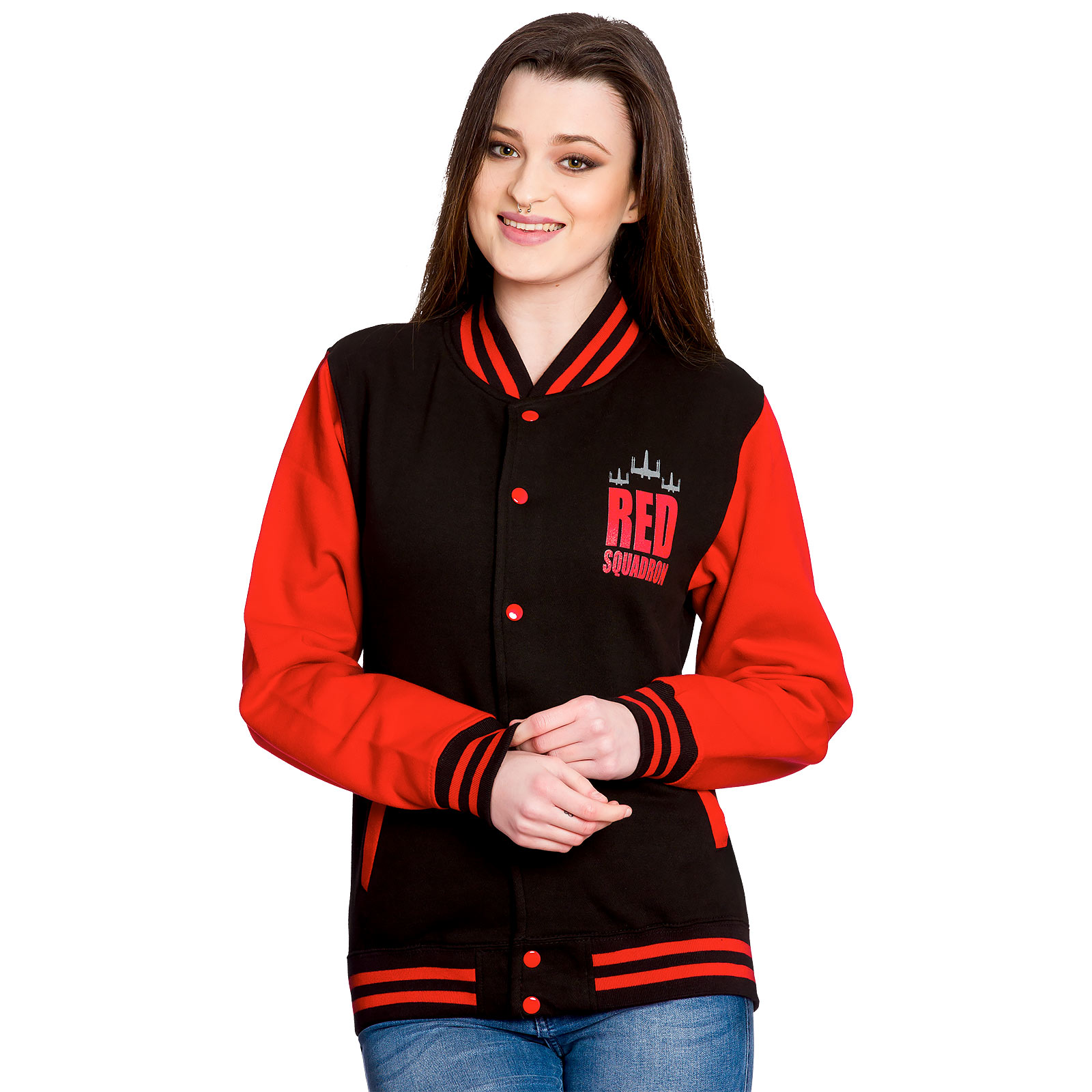 Rogue One College Jacke - Red Squadron Star Wars