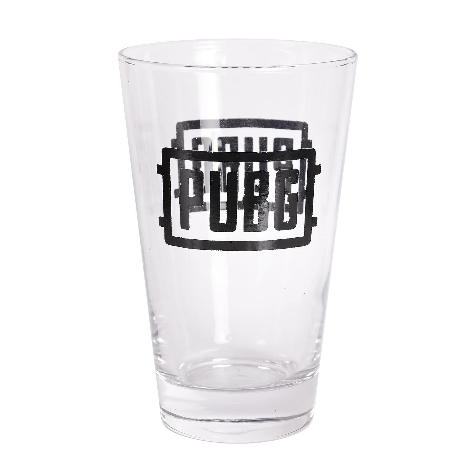PUBG - Logo Glas
