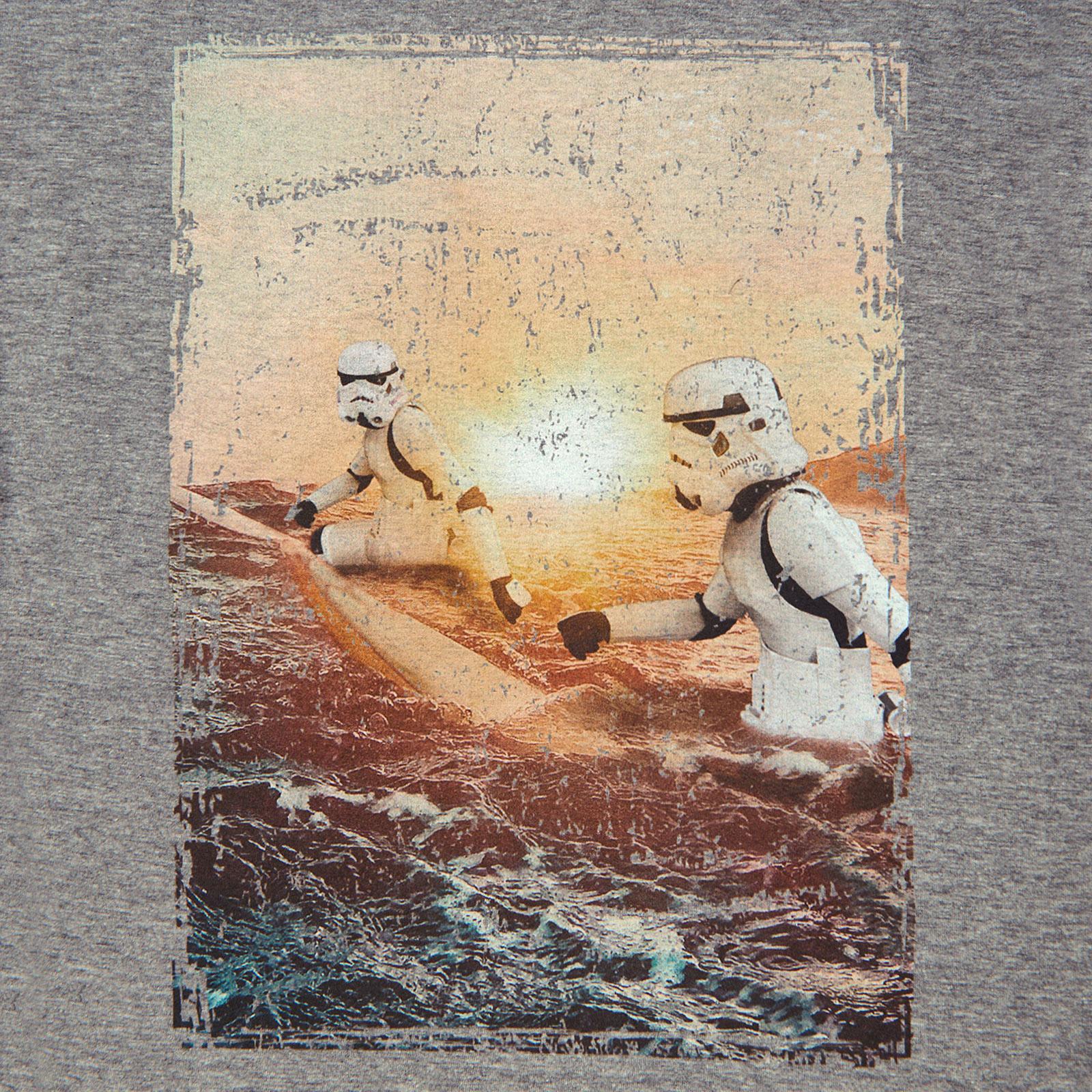 Original Stormtrooper Sunrise Surfers T-Shirt grau