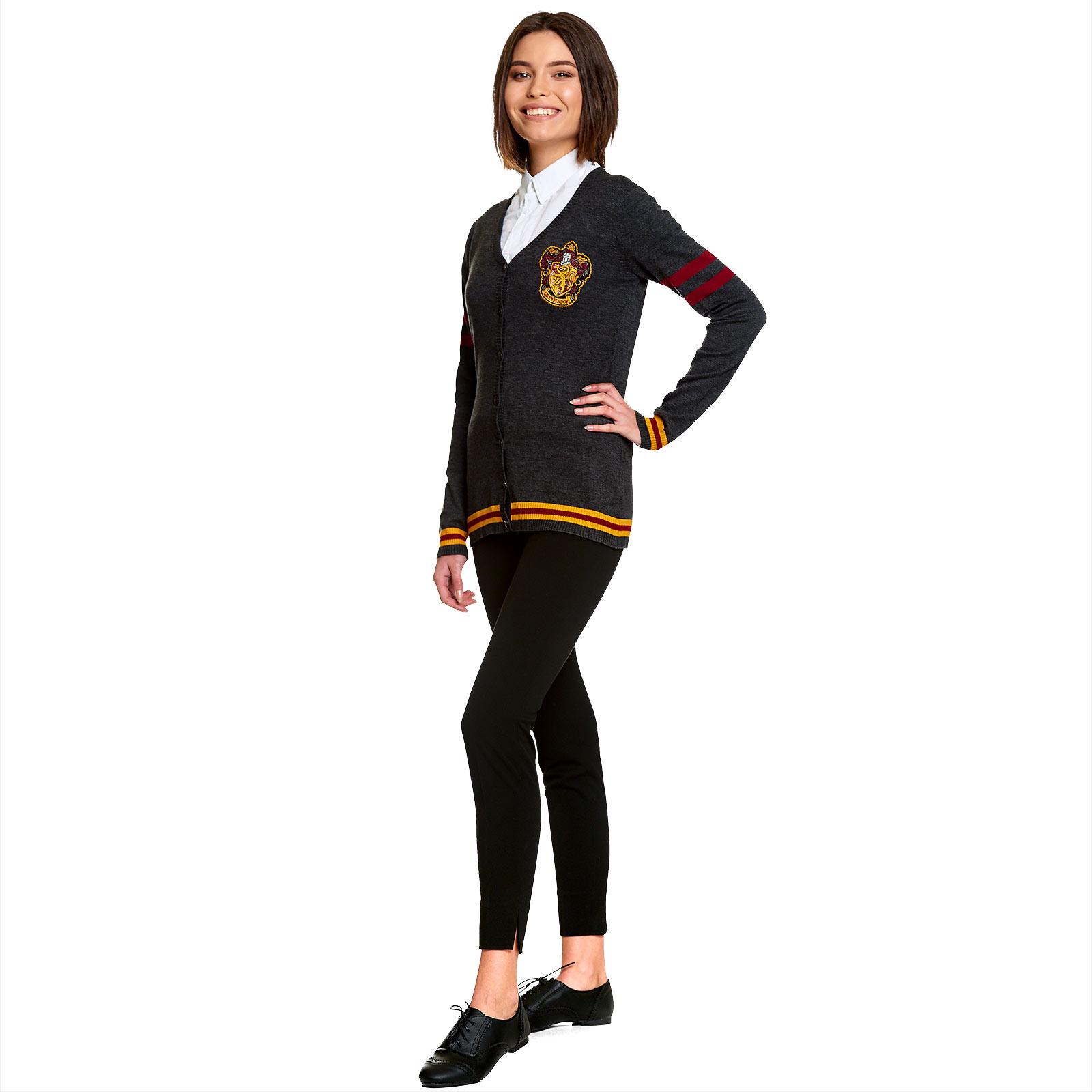 Harry Potter - Gryffindor Wappen Cardigan Damen