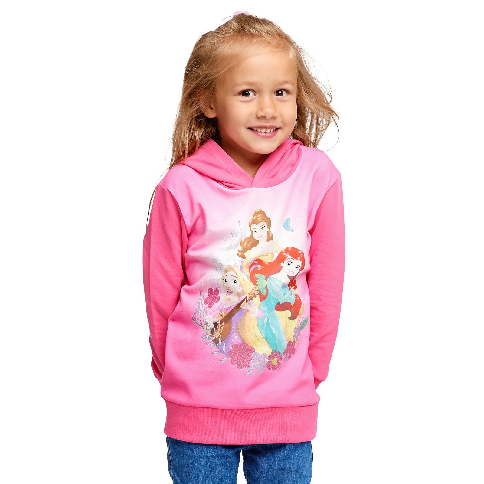 Disney Princess Hoodie Kinder pink