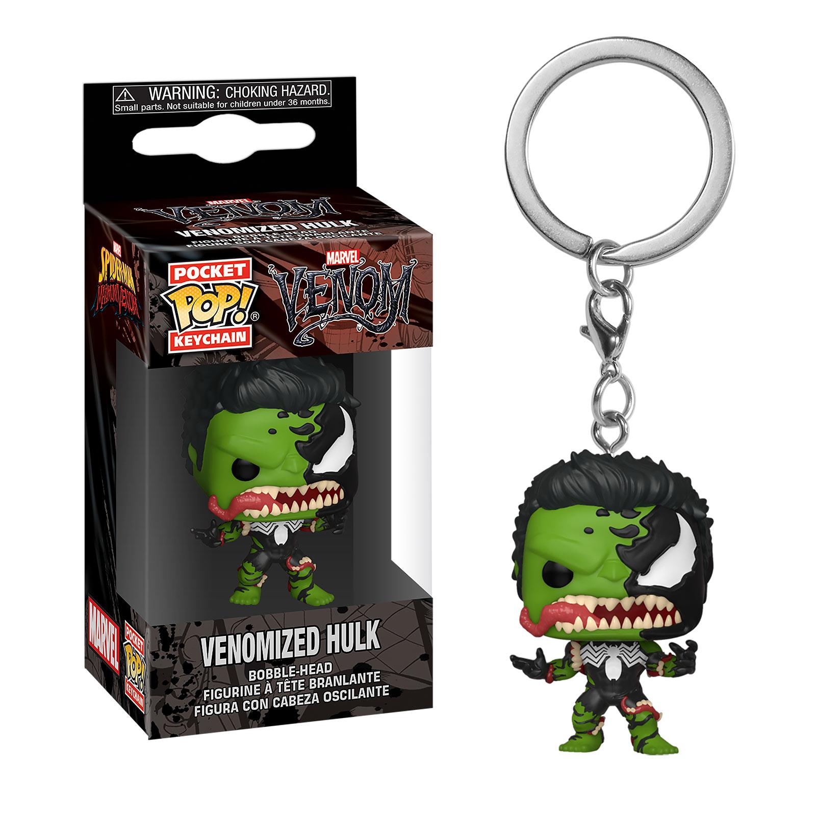 Marvel - Venomized Hulk Funko Pop Schlüsselanhänger