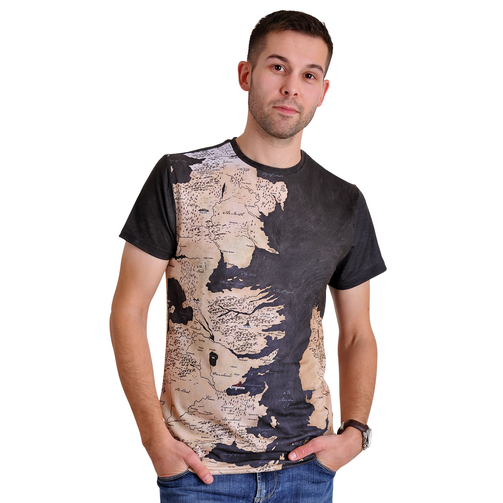Game of Thrones - Westeros und Essos T-Shirt