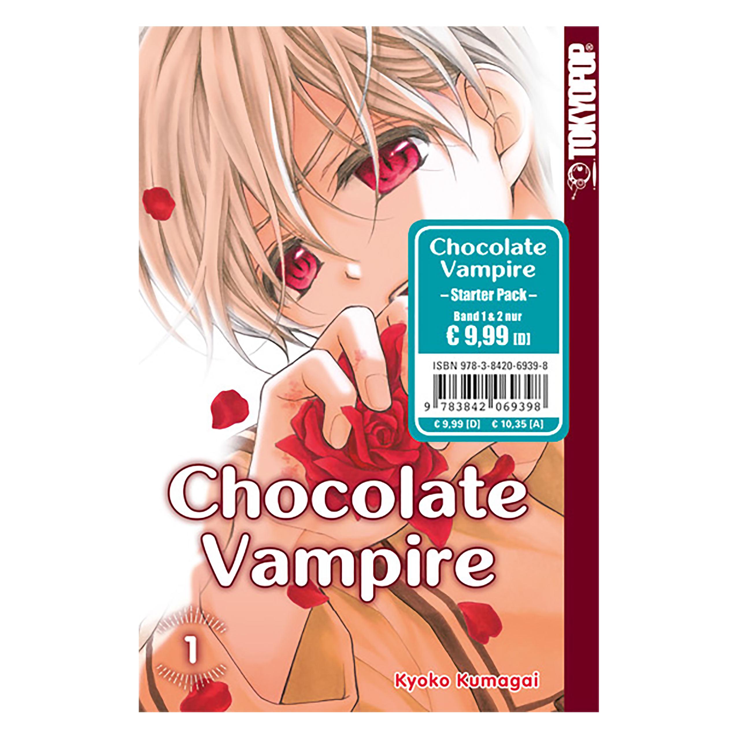 Chocolate Vampire - Band 1 und 2 Taschenbuch Starter Pack