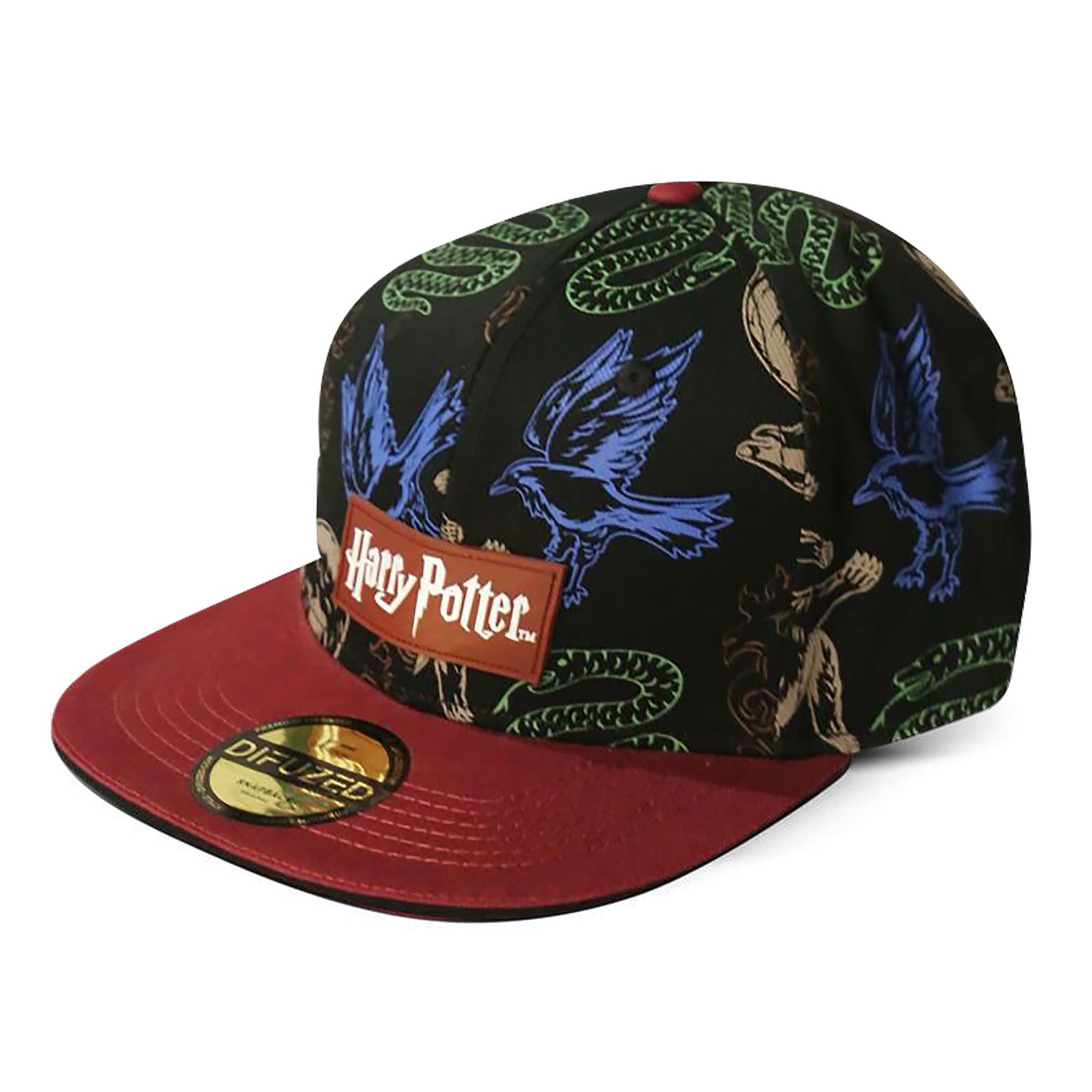 Harry Potter - Hogwarts Wappentiere Snapback Cap