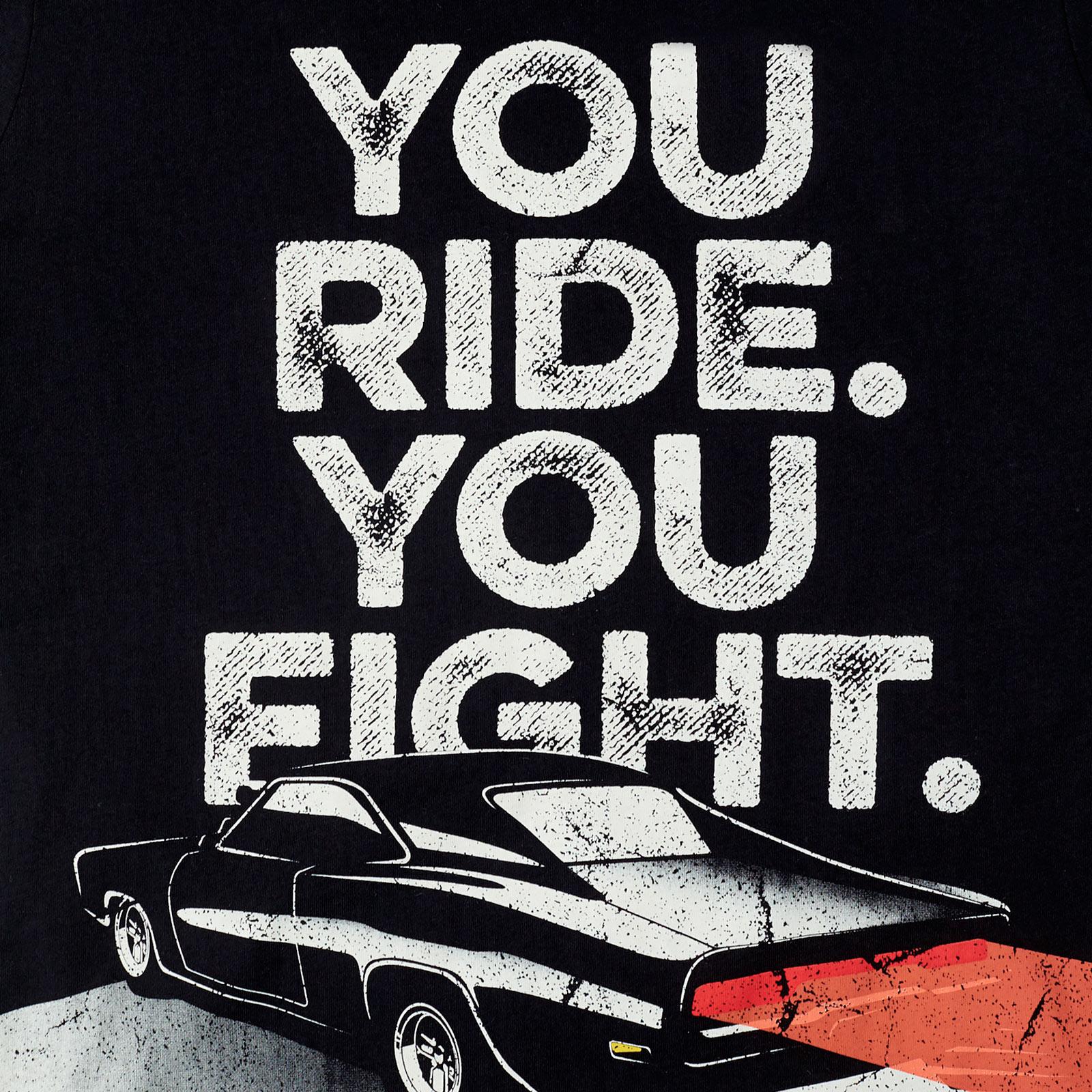 Fast & Furious - You Ride You Fight T-Shirt grau