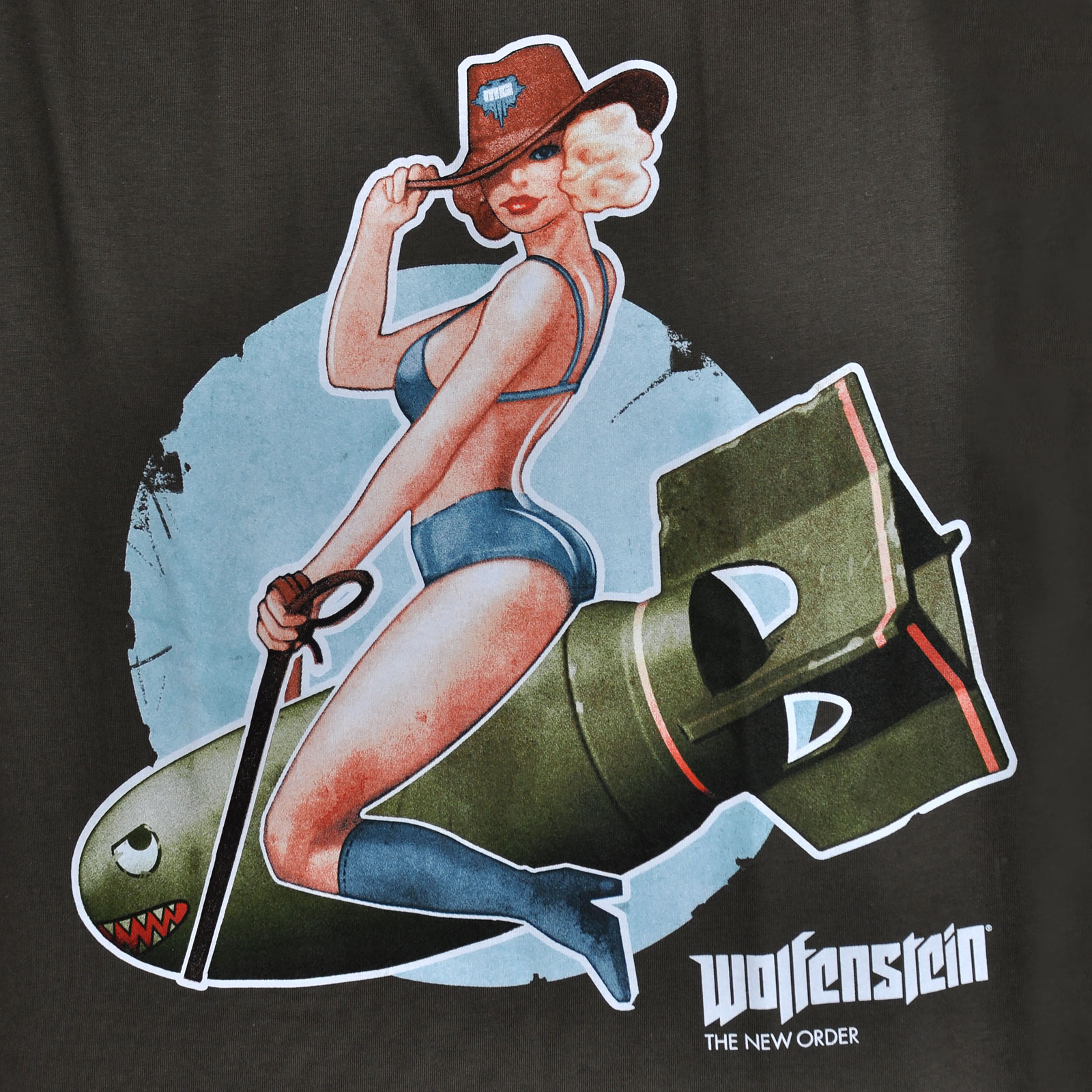 Wolfenstein - Pin-Up T-Shirt
