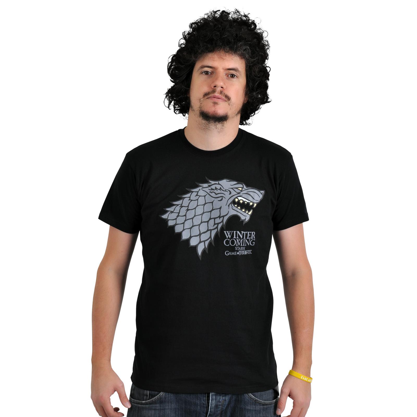 Game of Thrones - House Stark Wappen T-Shirt