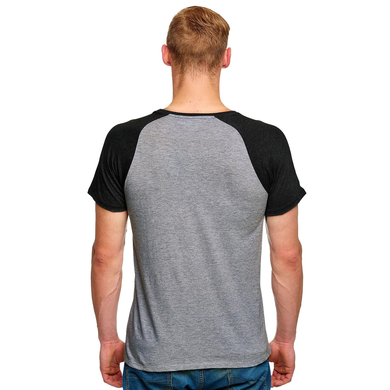 Harry Potter - Loyal Hufflepuff T-Shirt grau