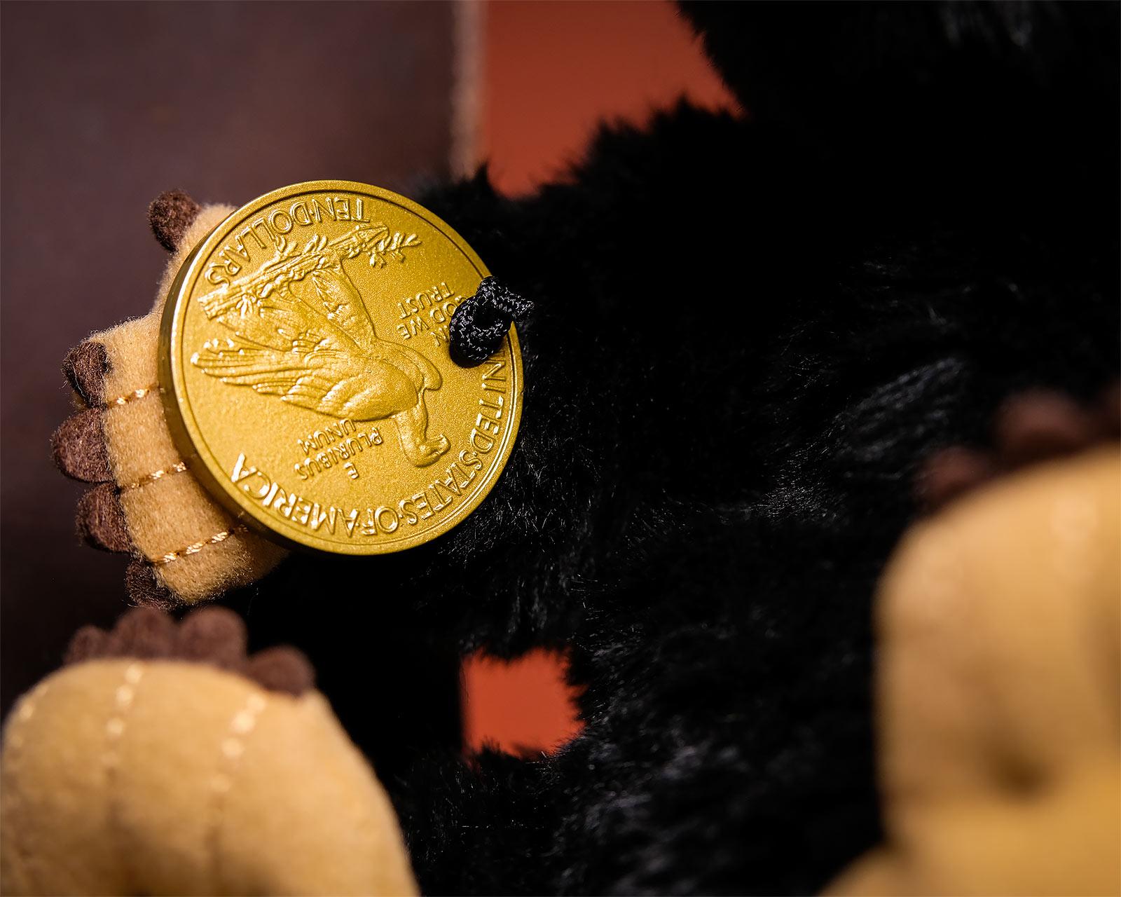 Niffler Plüsch Handpuppe mit Sound - Phantastische Tierwesen