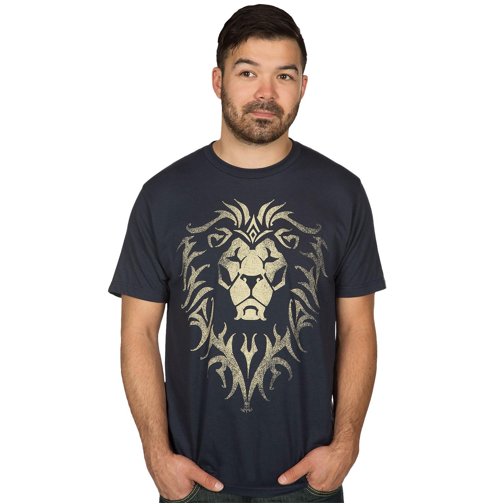 Warcraft - Movie Alliance Logo T-Shirt blau
