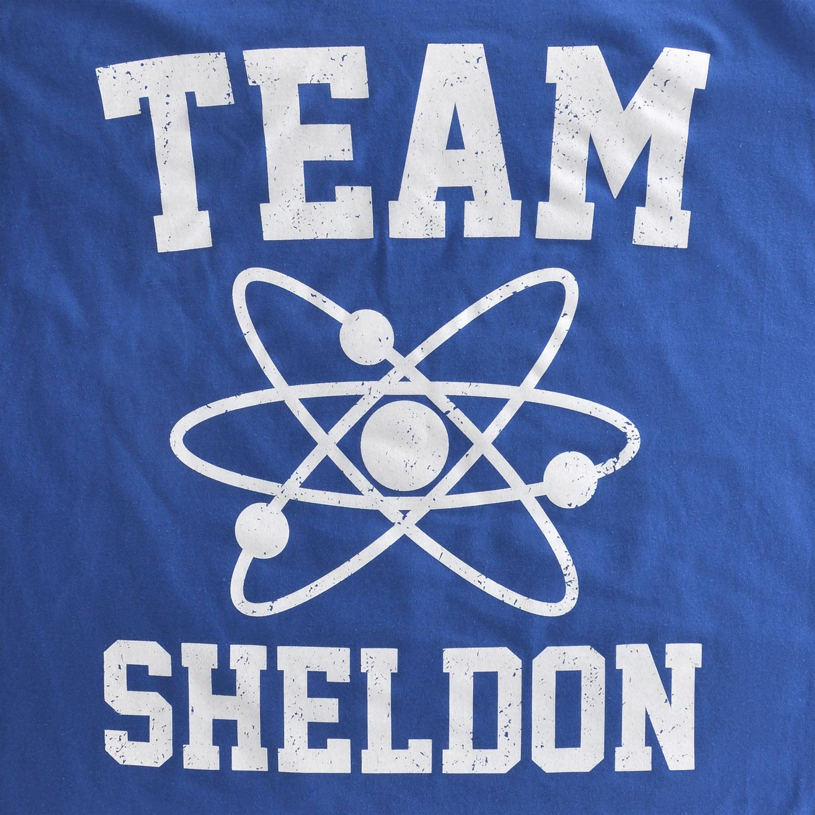 Sheldon T-Shirt für The Big Bang Theory Fans