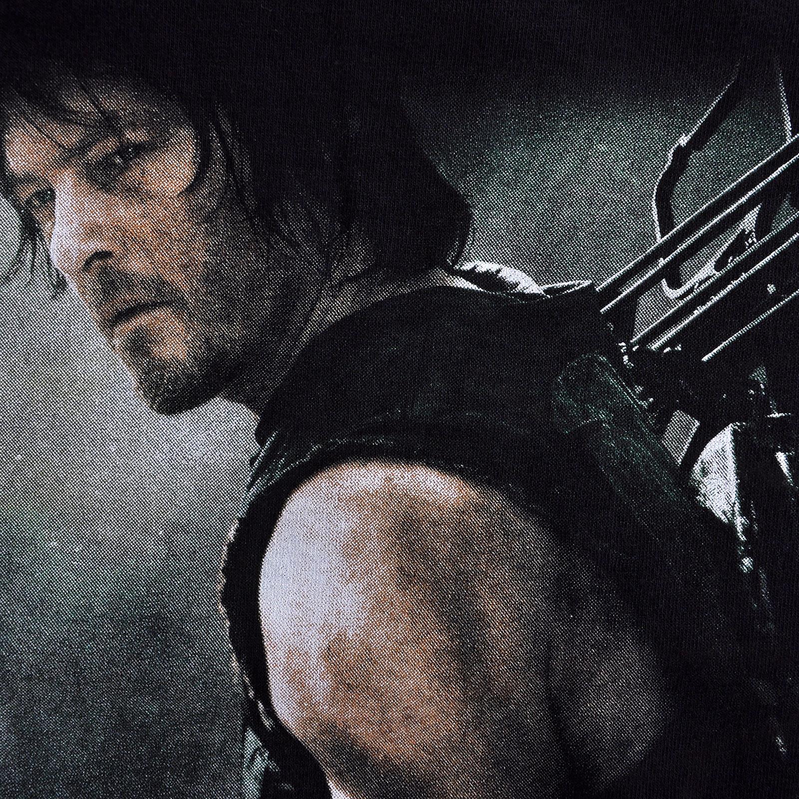 Walking Dead - Daryl Hunter T-Shirt schwarz