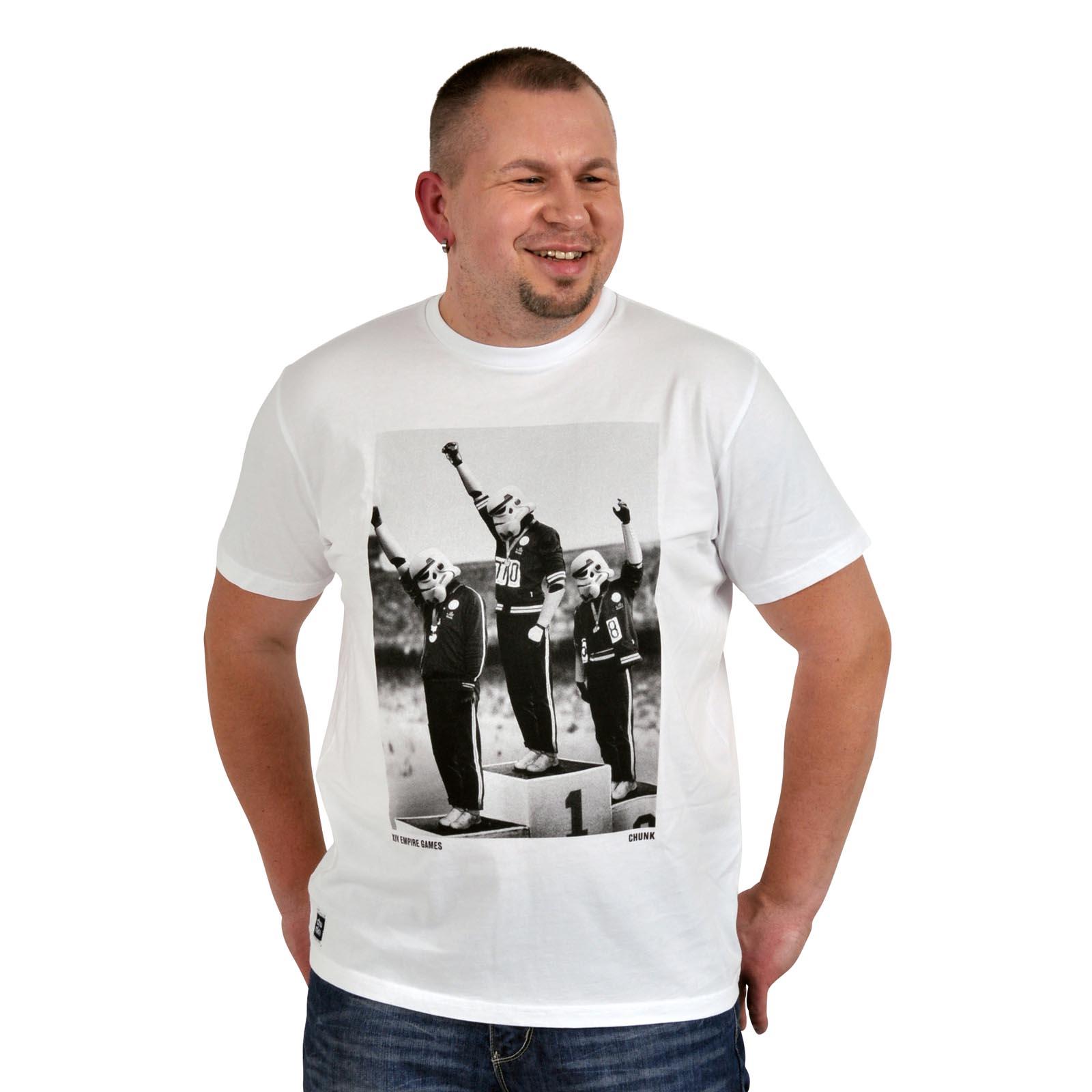 Star Wars - Stormtrooper Olympics T-Shirt weiß