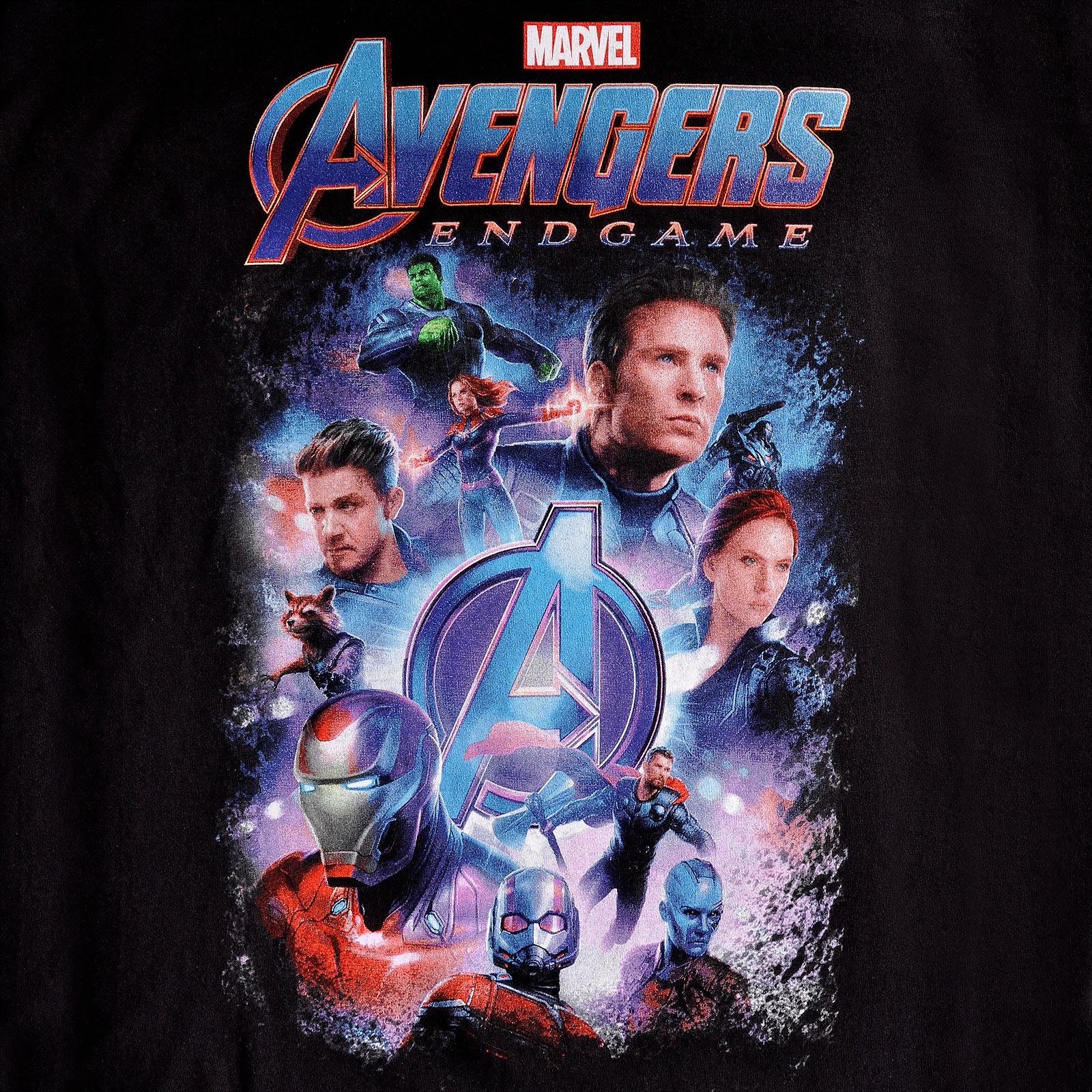 Avengers - Endgame Collage T-Shirt schwarz