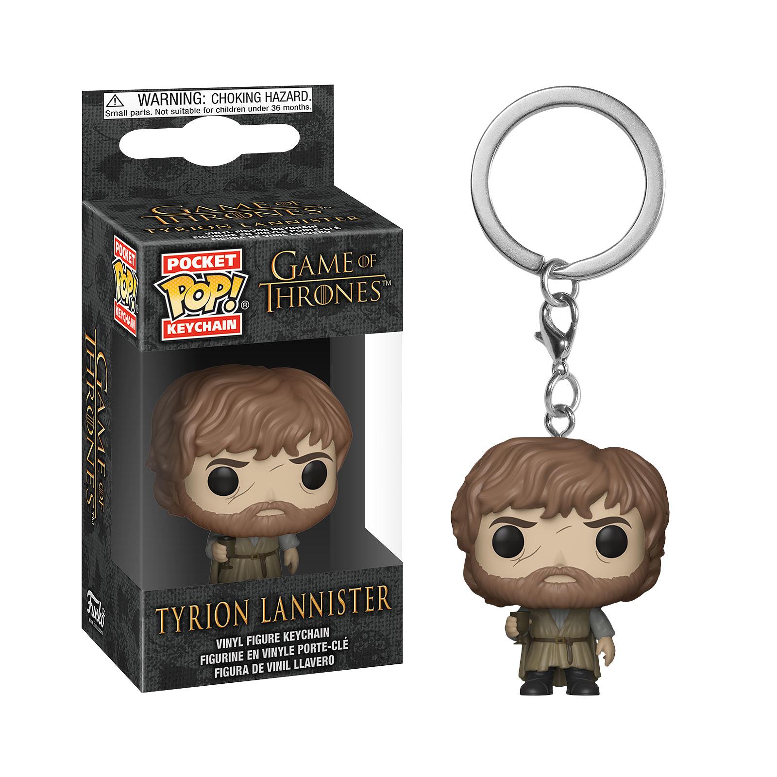 Game of Thrones - Tyrion Season 7 Funko Pop Schlüsselanhänger