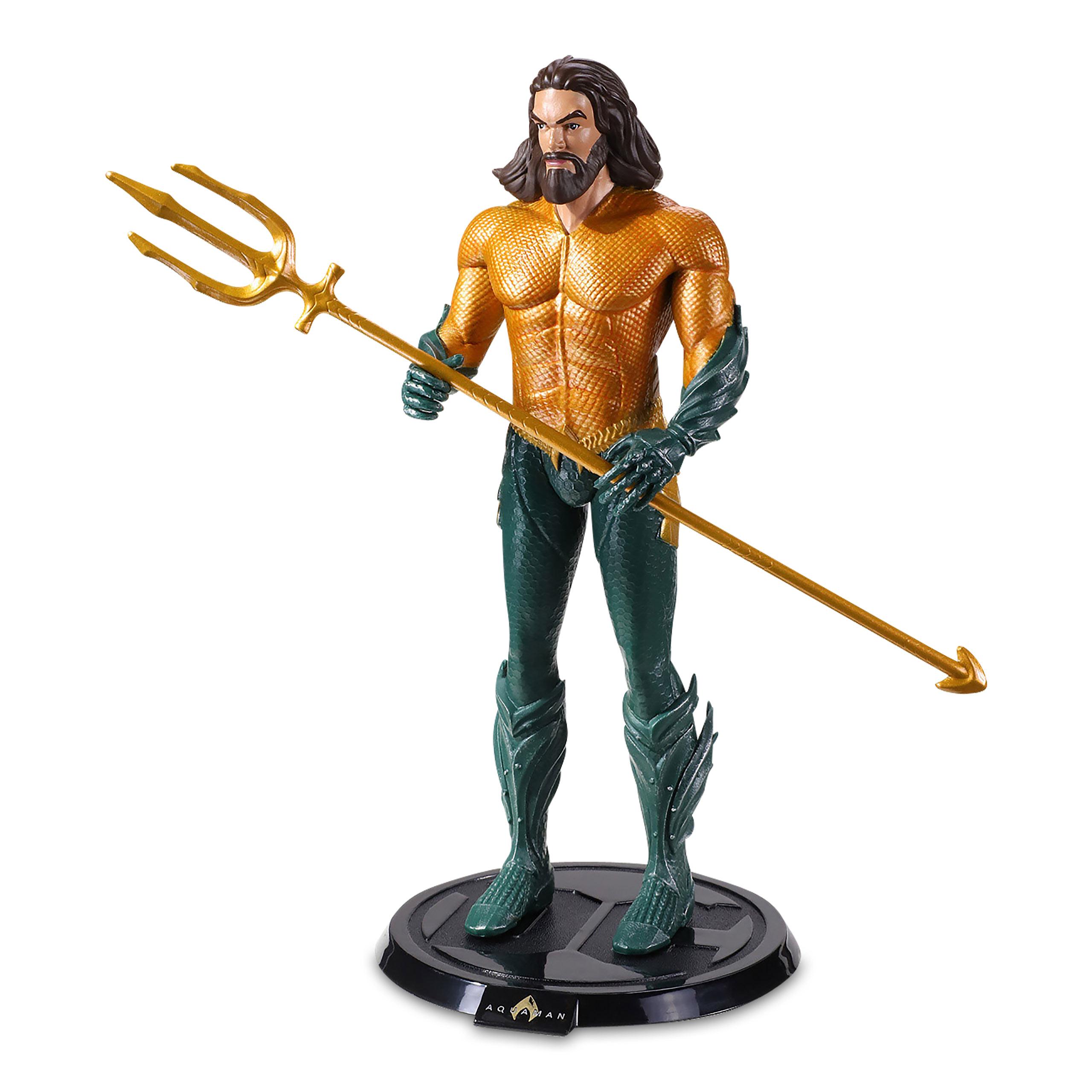 DC Comics - Aquaman Bendyfigs Figur 19 cm