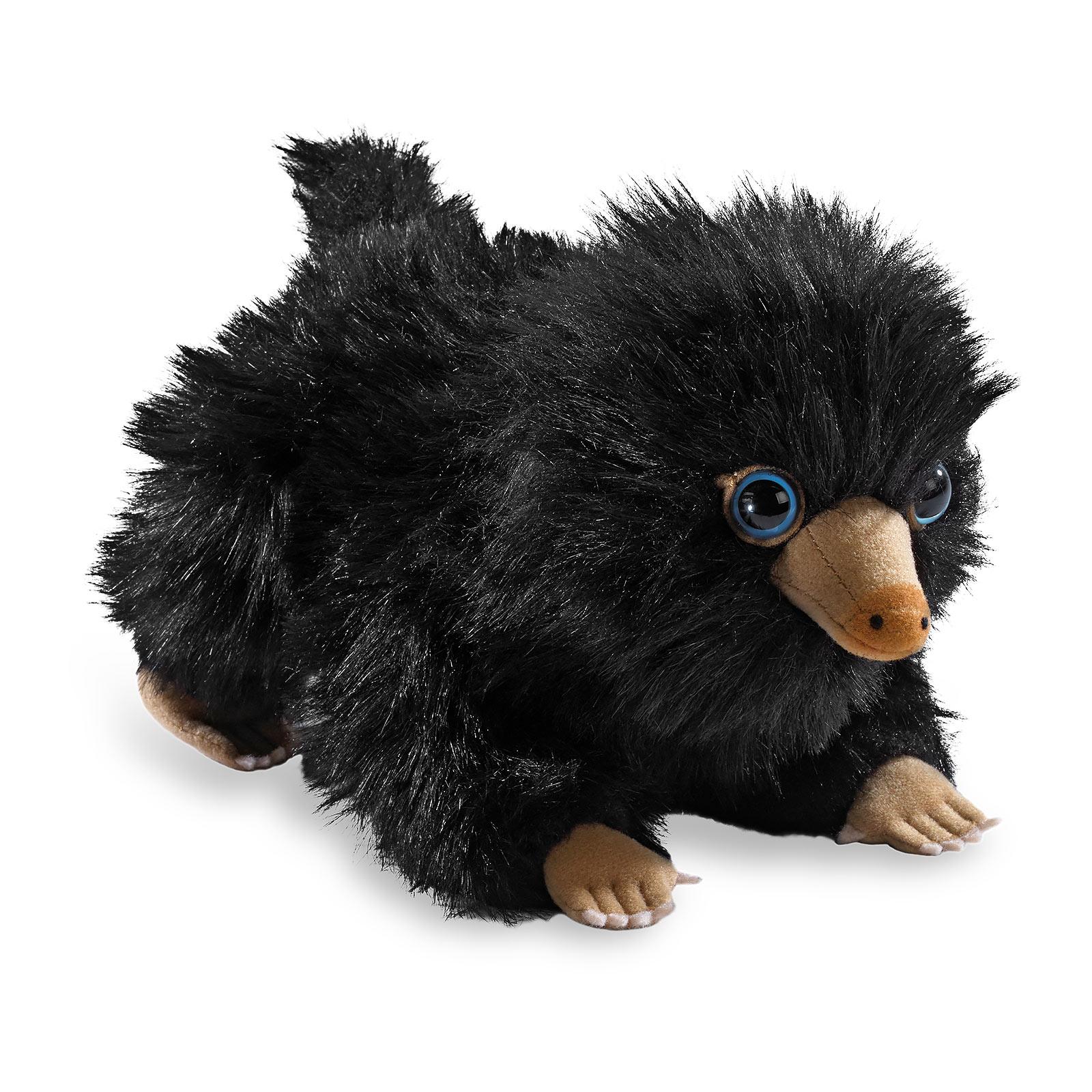Baby Niffler Plüsch Figur 22 cm schwarz - Phantastische Tierwesen
