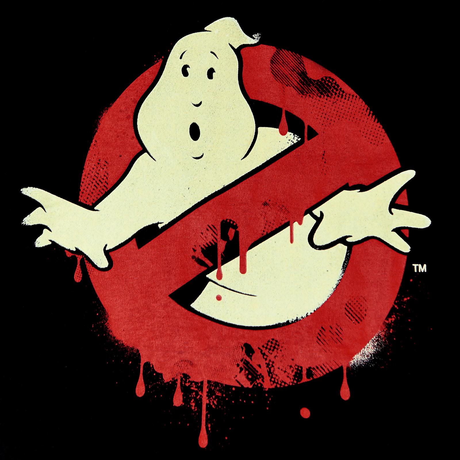 Ghostbusters - Glow in the Dark Logo T-Shirt