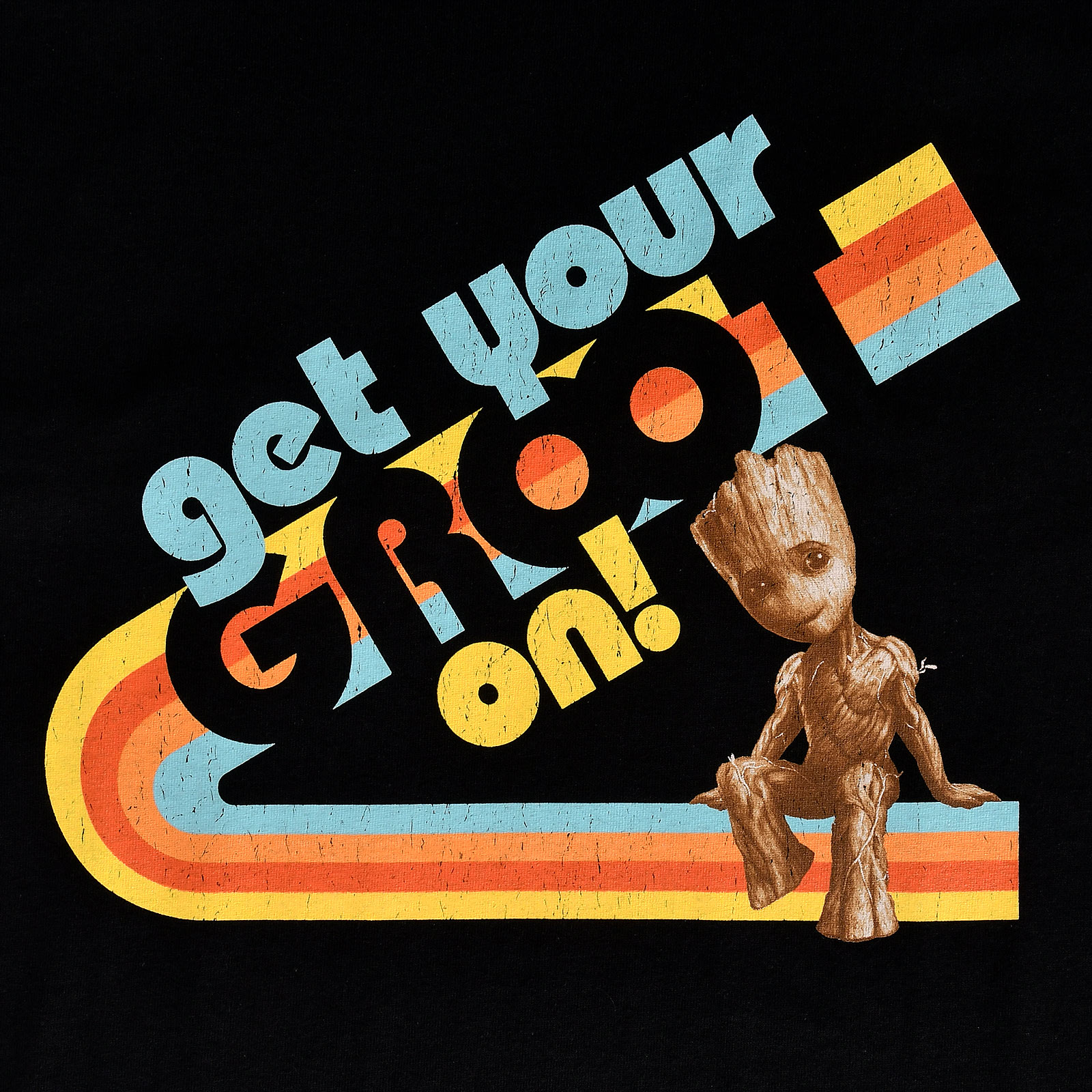 Guardians of the Galaxy - Get Your Groot On T-Shirt schwarz