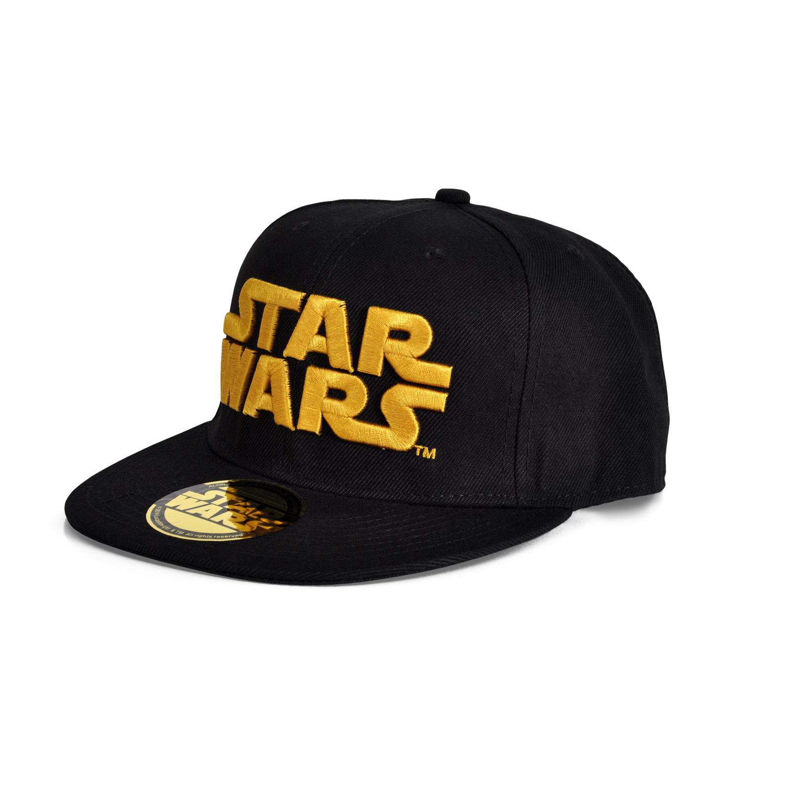 Star Wars - Golden Logo Snapback Cap