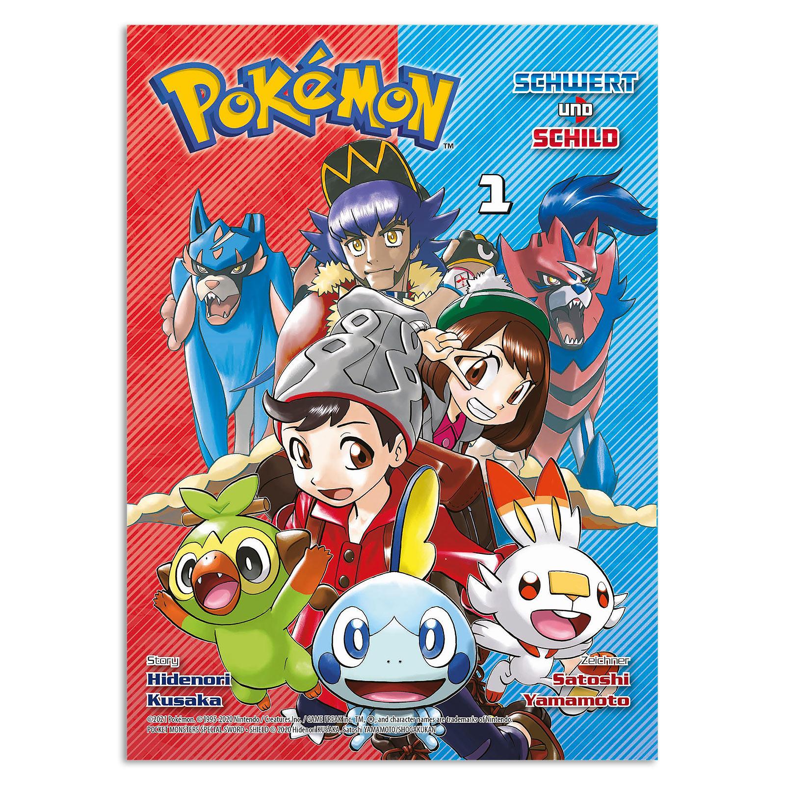 Pokémon - Schwert und Schild Band 1 Taschenbuch
