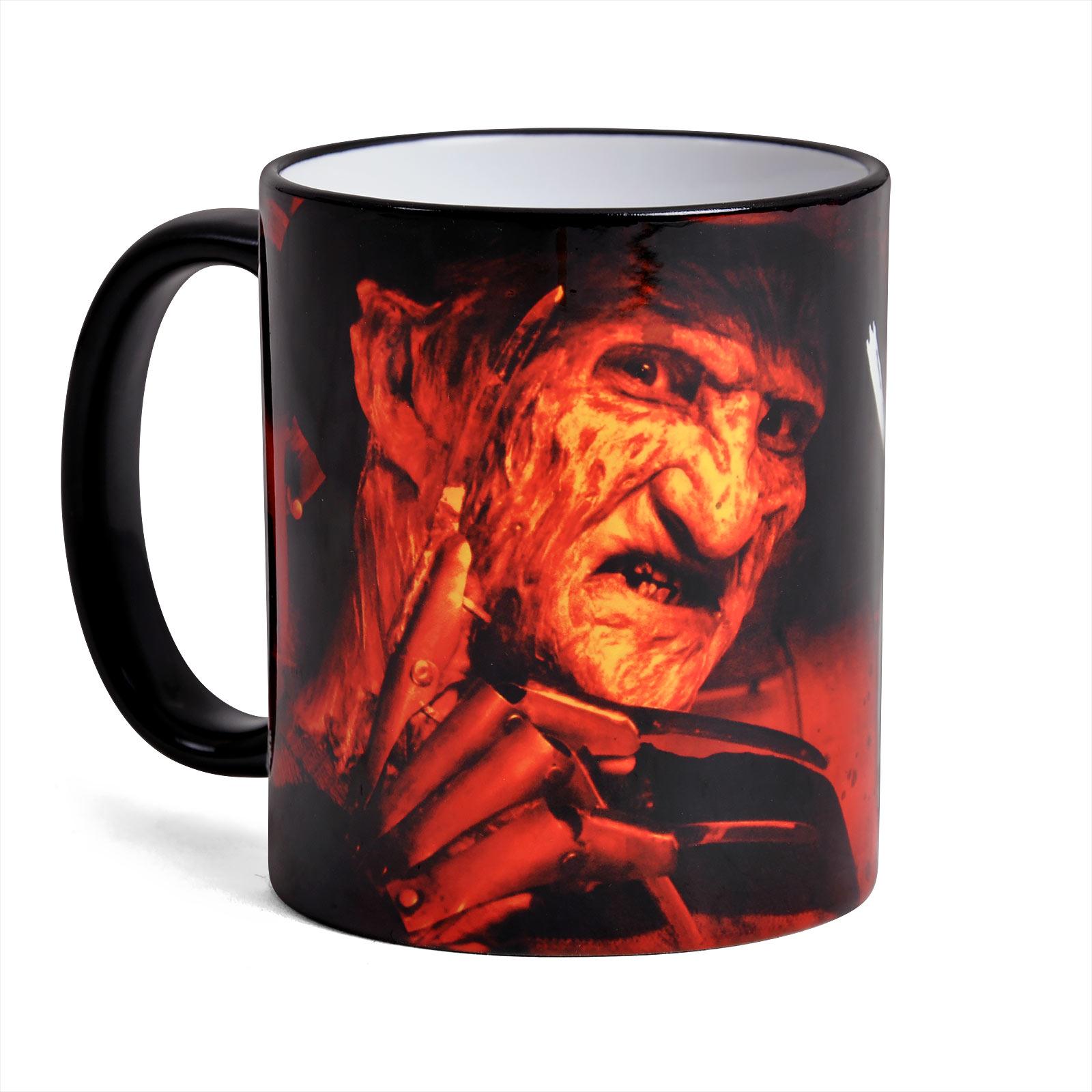 Freddy Krueger Welcome - Nightmare on Elm Street Tasse