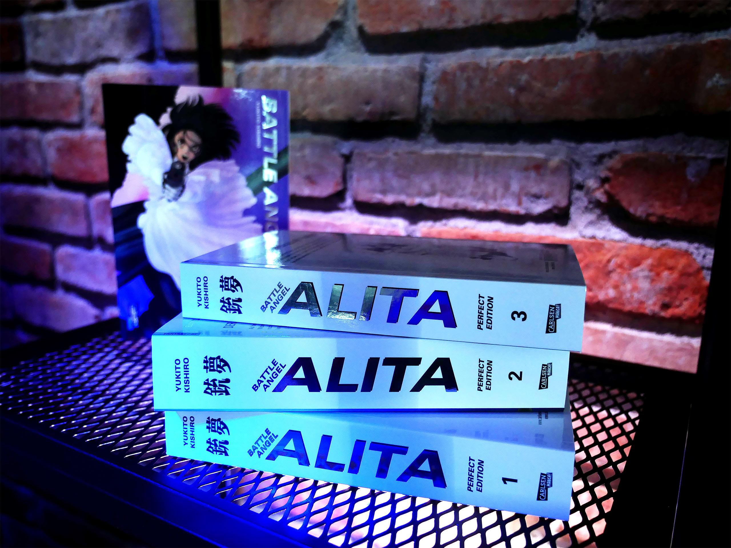 Battle Angel Alita - Perfect Edition 1-4 im Schuber
