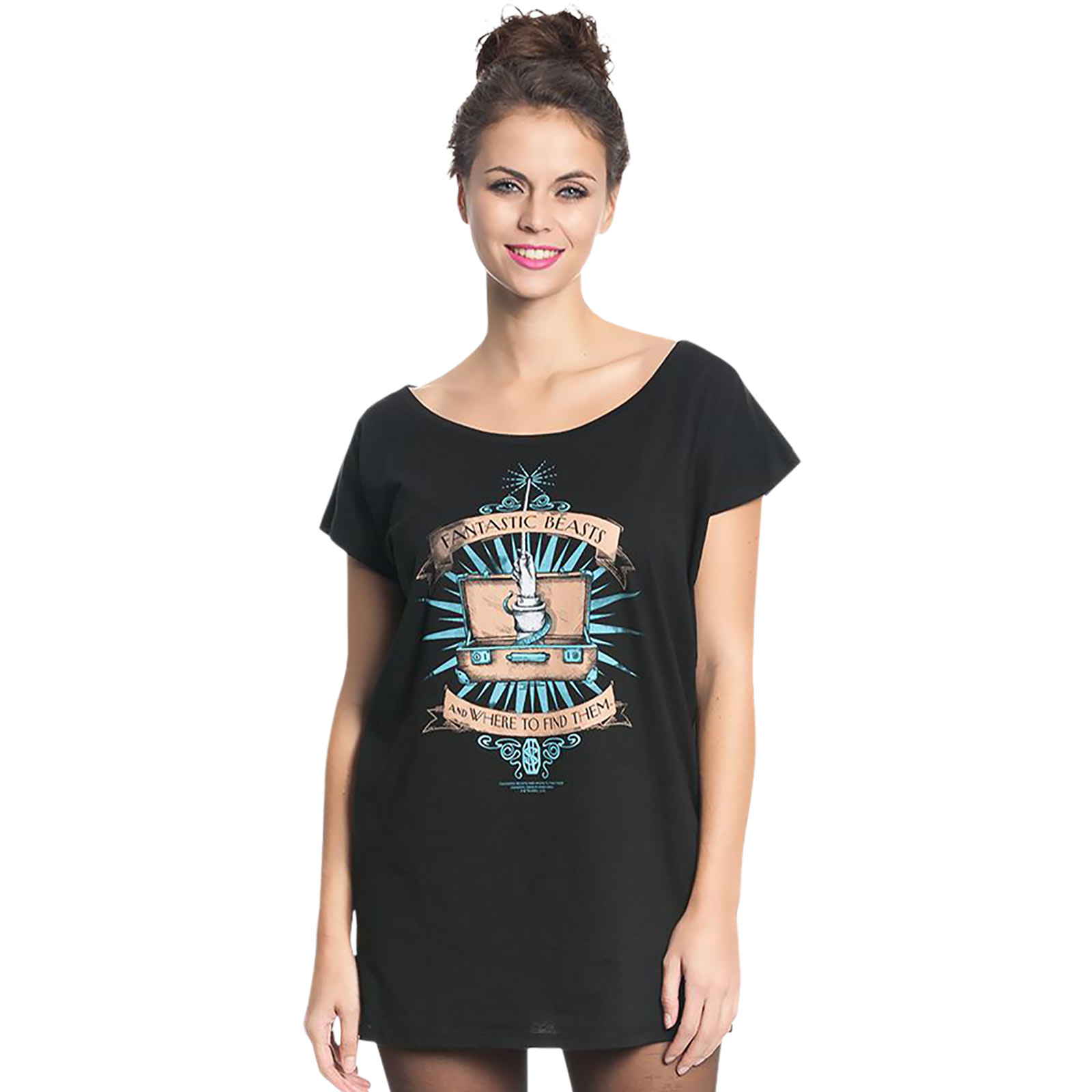 Magic - Phantastische Tierwesen Girlie Shirt Loose Fit