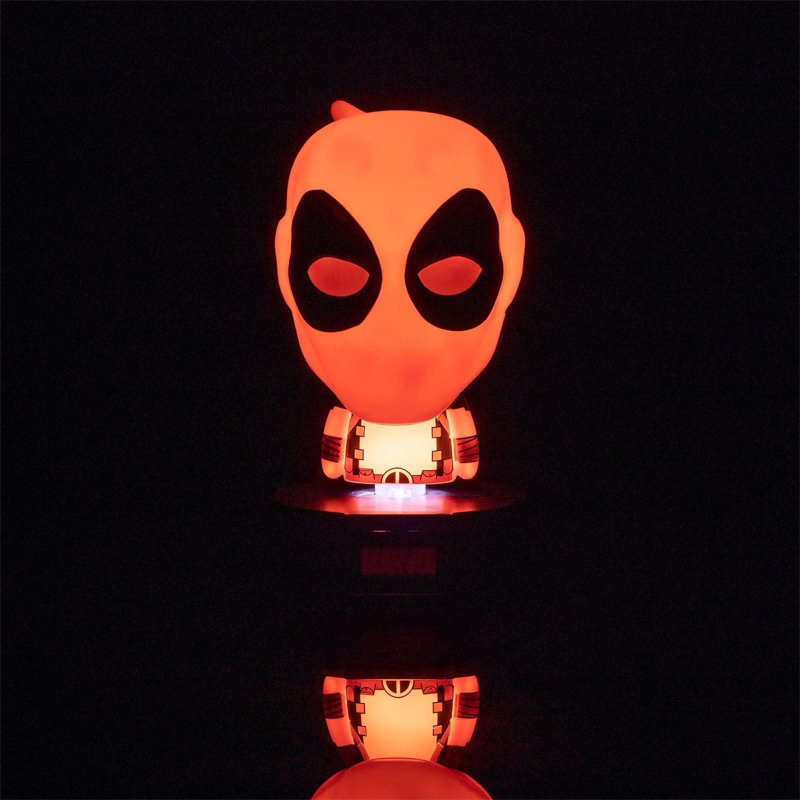 Deadpool - Icons 3D Tischlampe