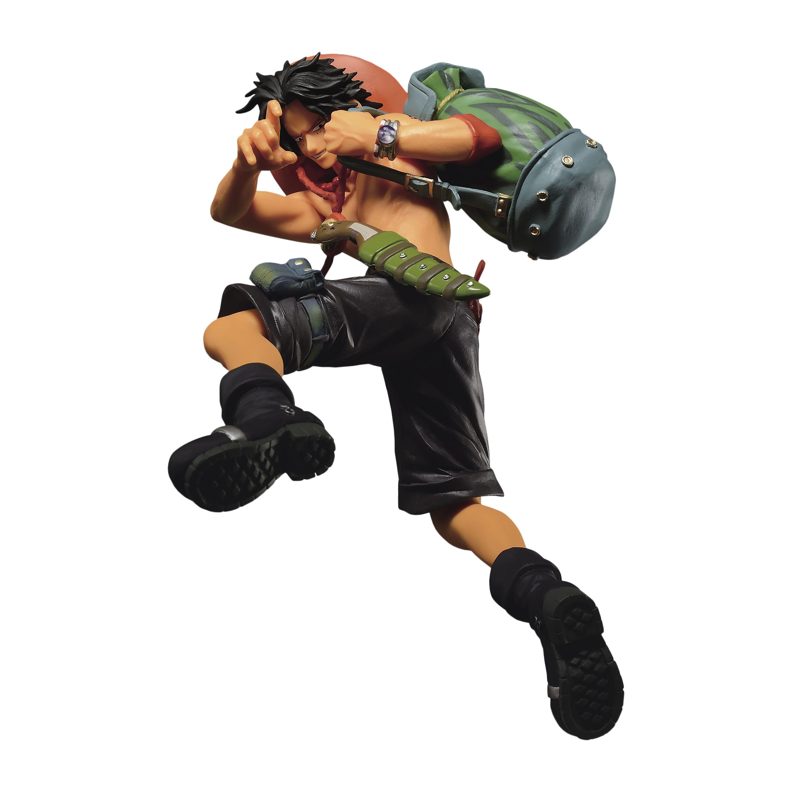 One Piece - Portgas. D. Ace SCultures Big Zoukeio Figur 9 cm