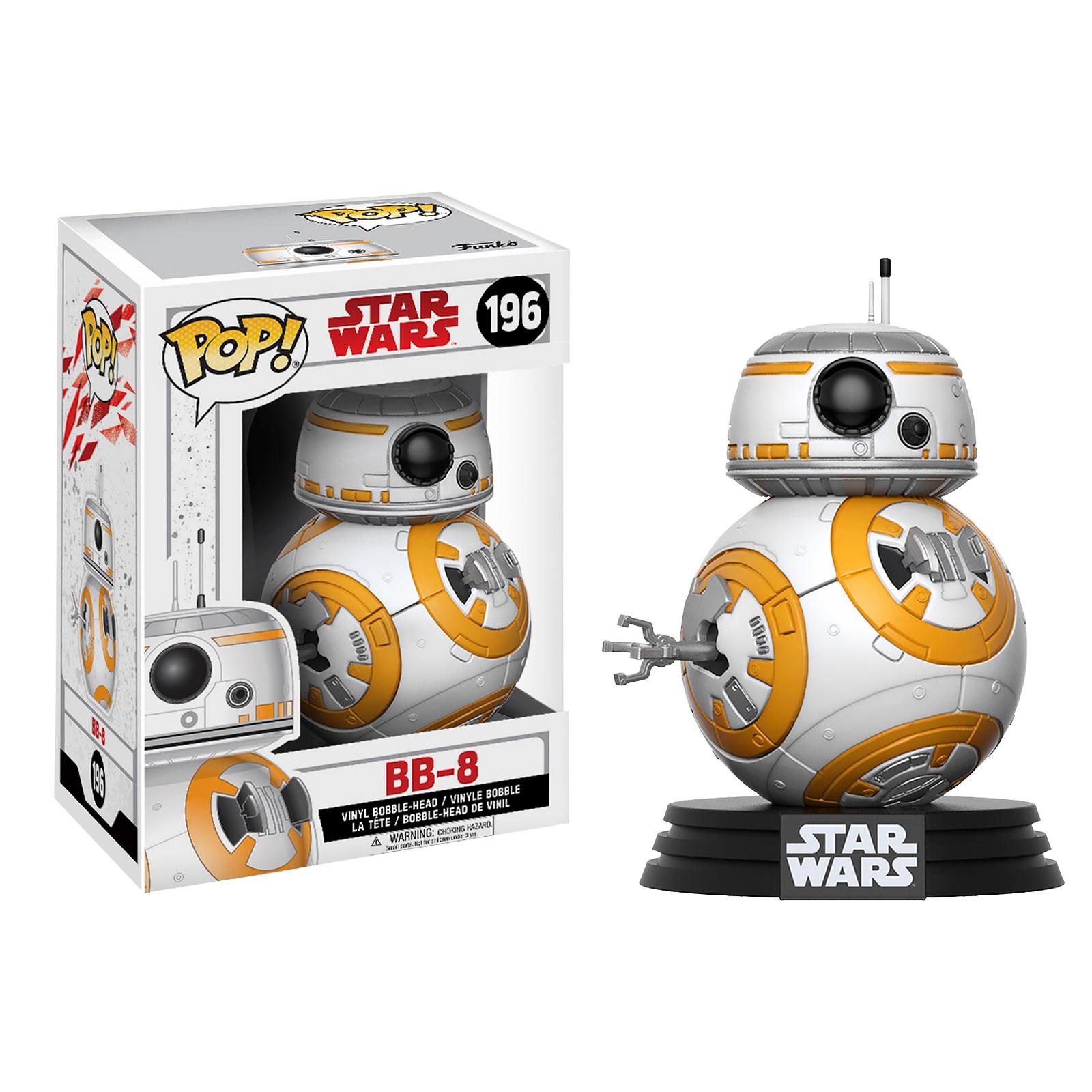Star Wars - BB-8 Wackelkopf-Figur